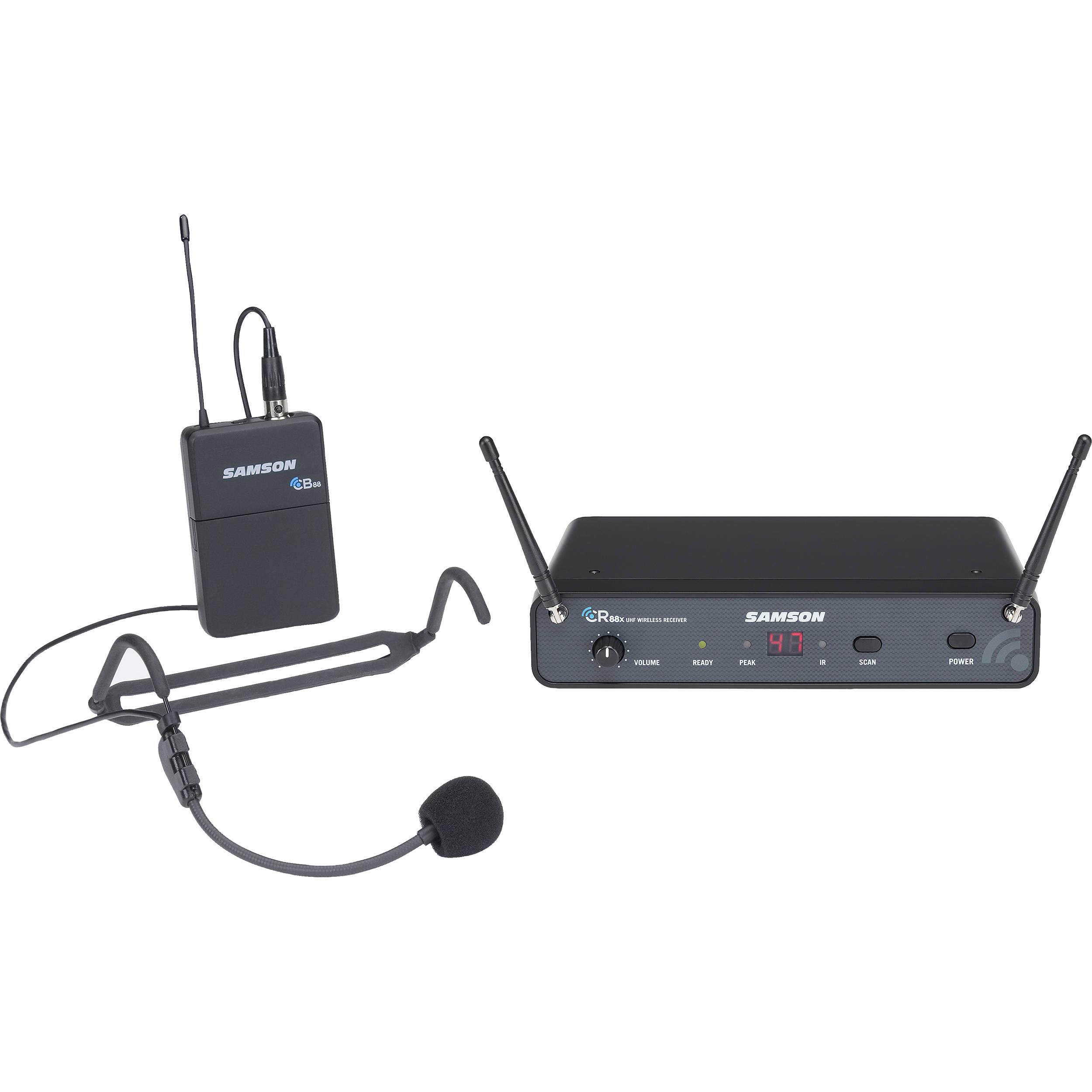 Samson Concert 88x Wireless Headset Microphone Swc88xbhs5 D B H