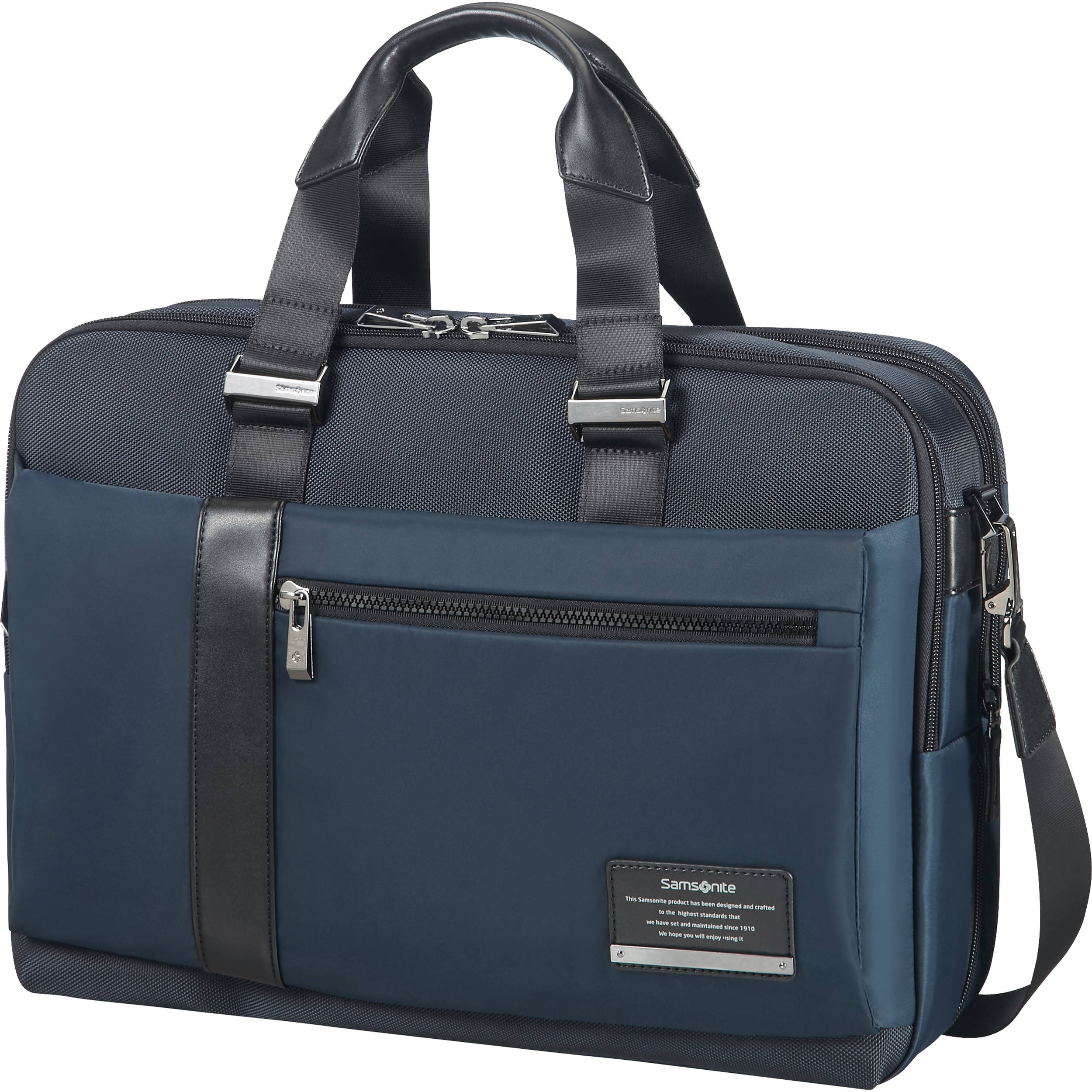 Samsonite leather expandable briefcase review