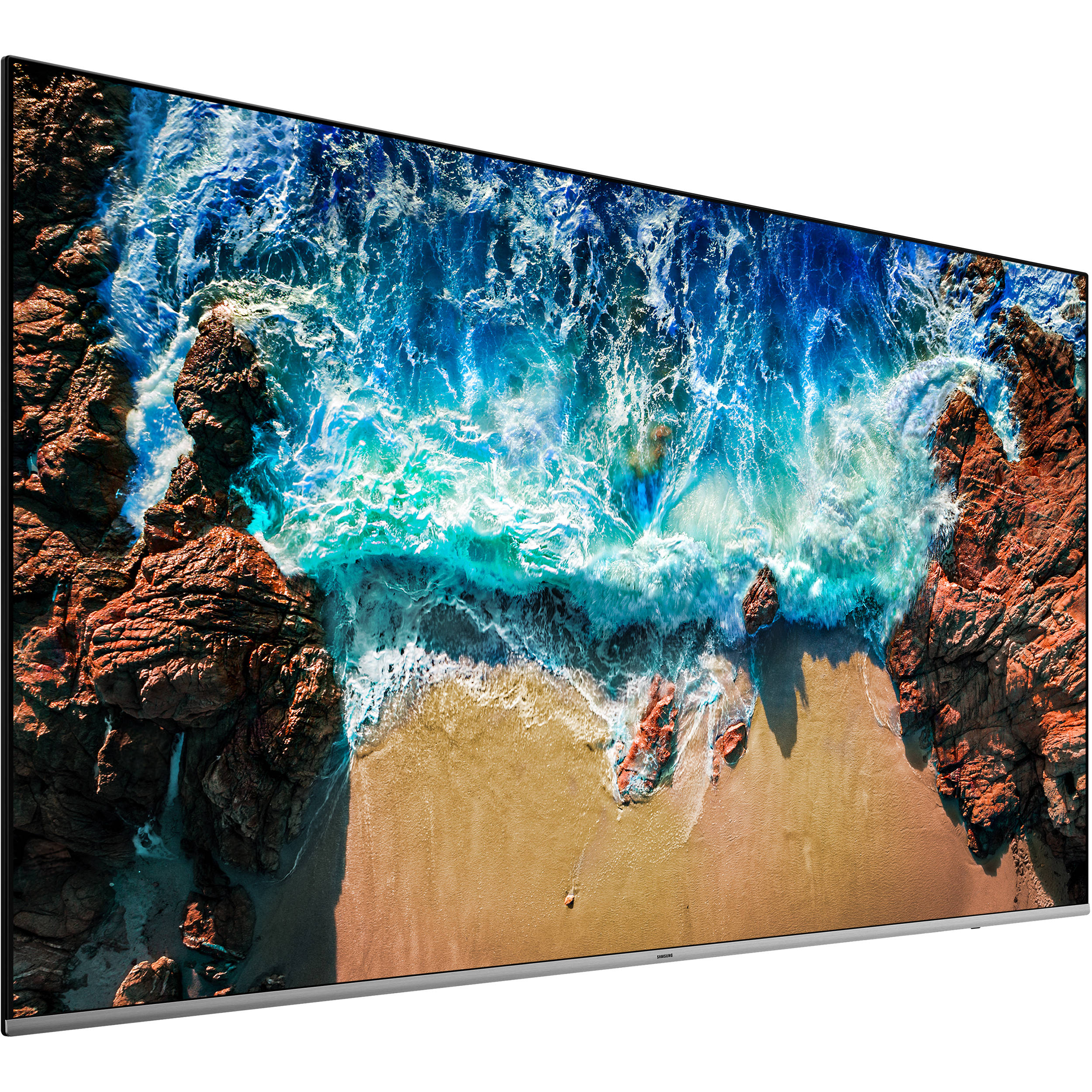 Samsung Commercial Displays >> Samsung Be82n 82 Class 4k Uhd Commercial Led Tv Be82n B H