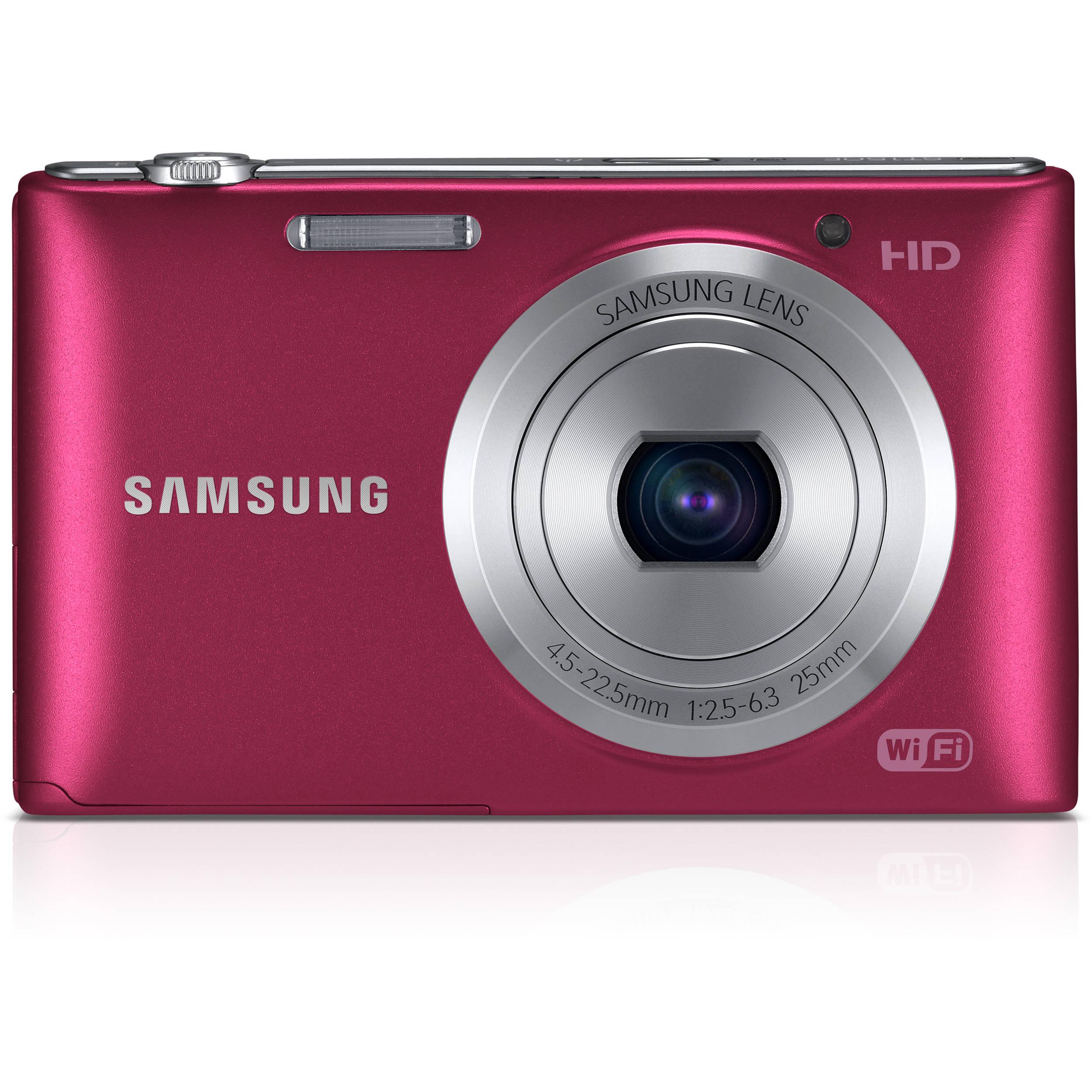 samsung st150f smart digital camera red ec st150fbprus b h rh bhphotovideo com Samsung ST150F Smart Digital Camera Samsung ST150F PTP Mode