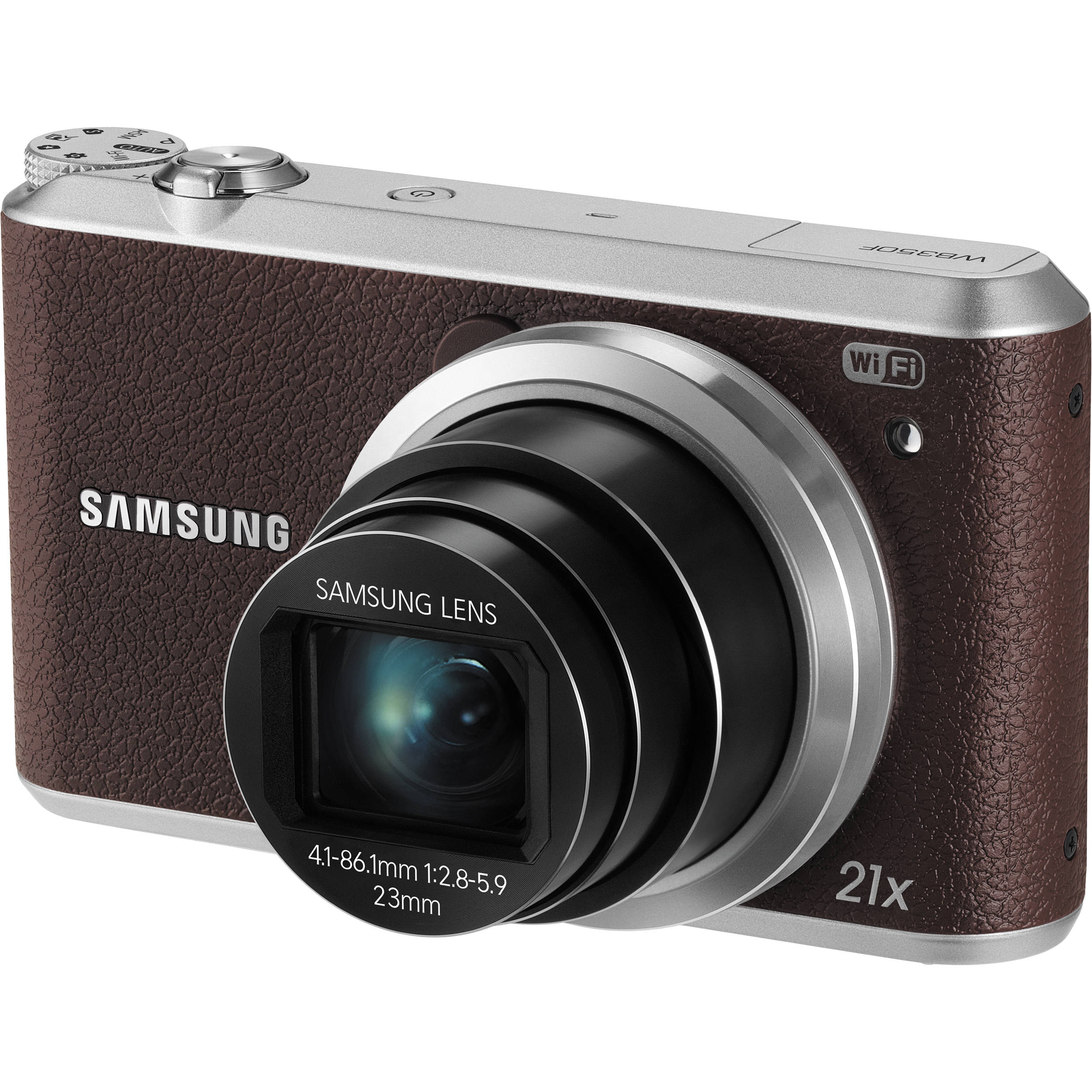 Samsung WB350F Smart Digital Camera (Brown) EC-WB350FBPNUS B&H