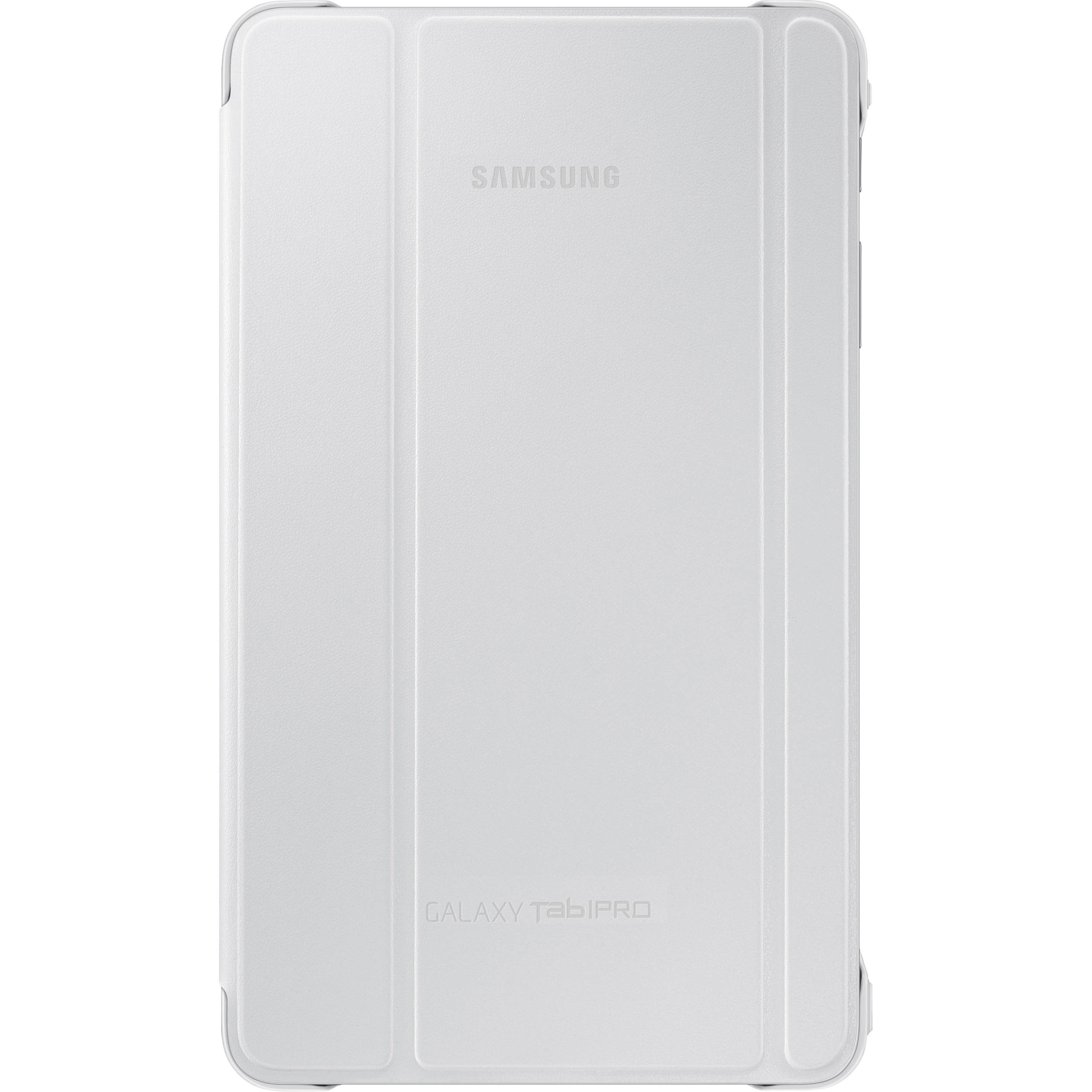 Book Cover White Zip : Samsung book cover for galaxy tab pro white ef