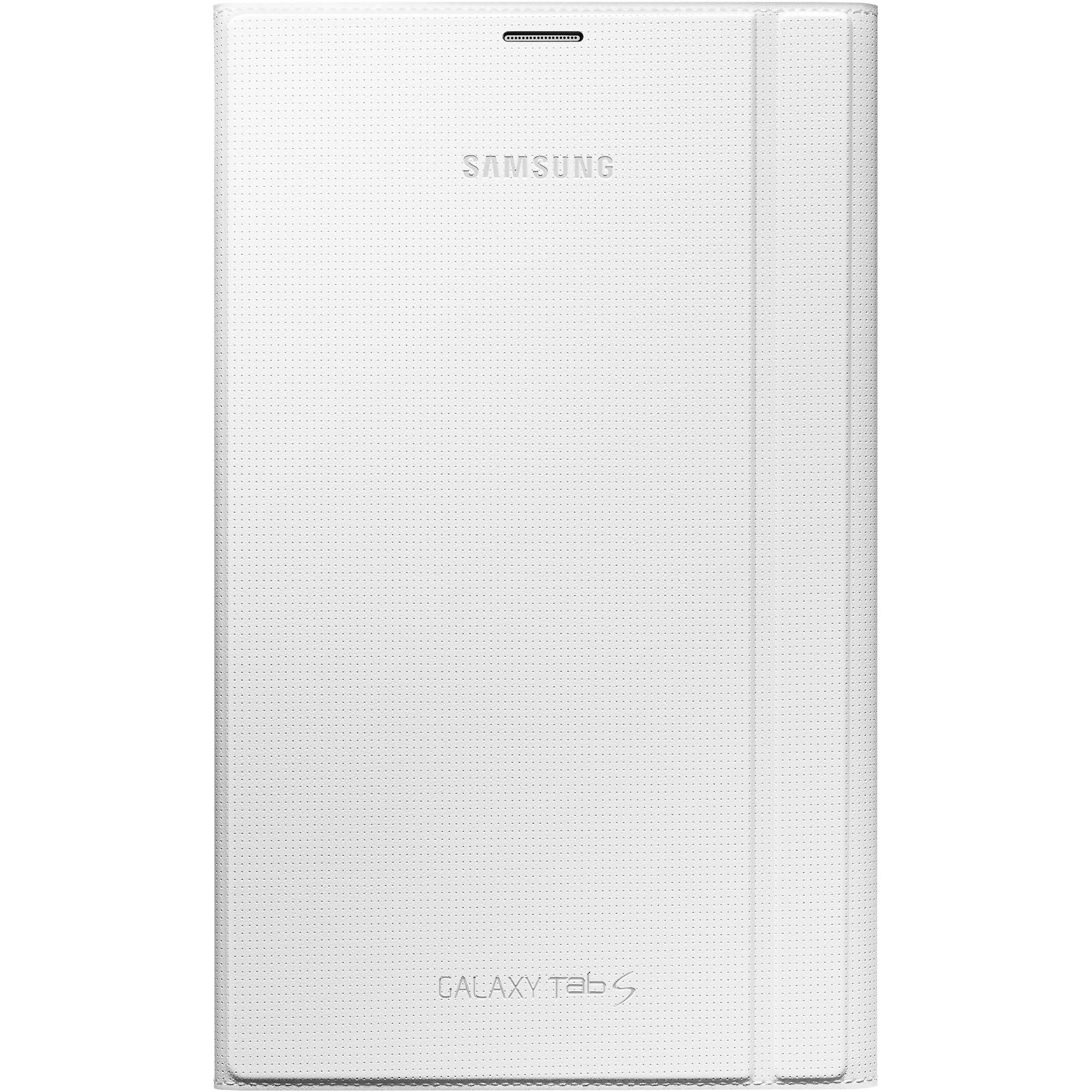 Tab S Book Cover White : Samsung book cover for galaxy tab s ef bt wweguj b h
