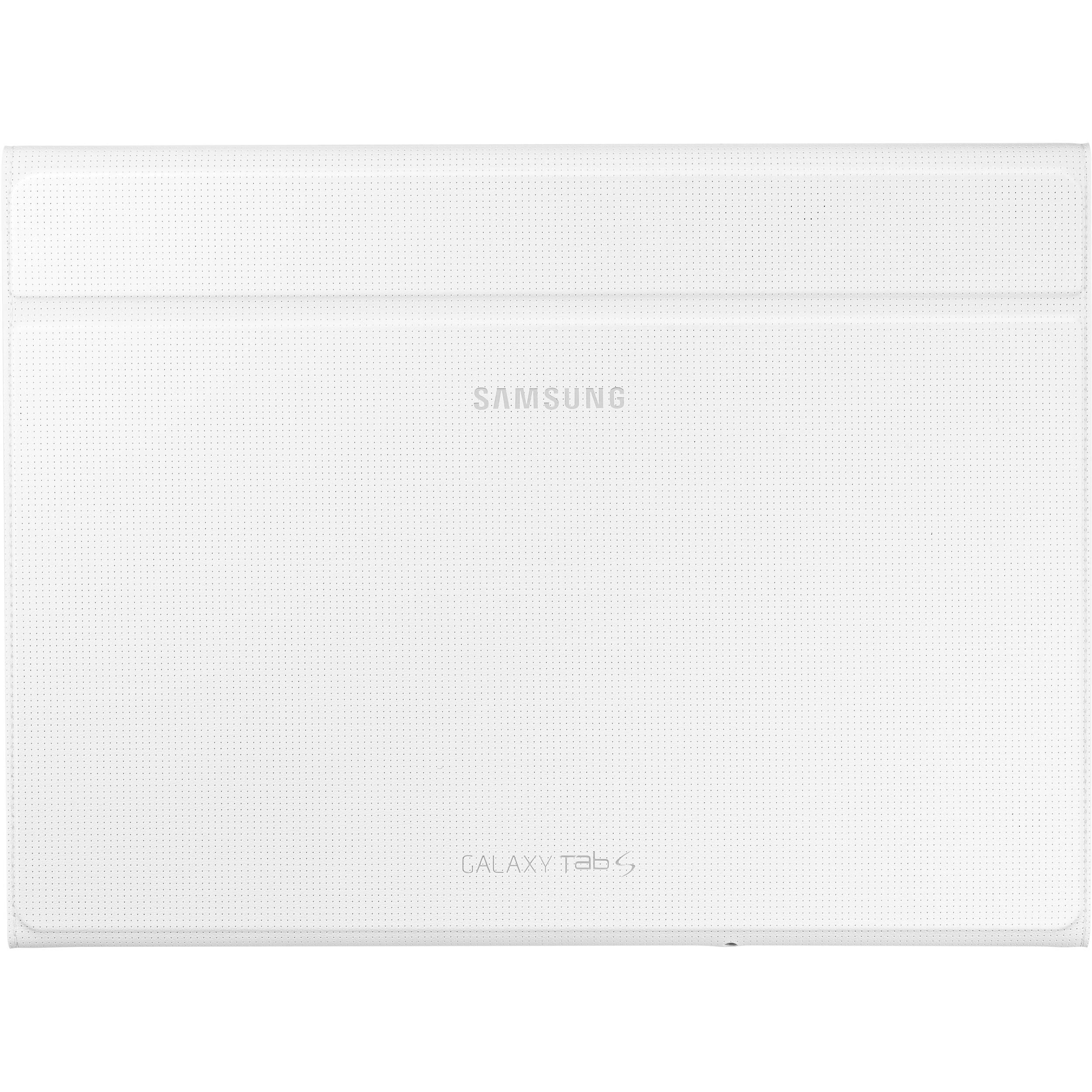 Tab S Book Cover White : Samsung book cover for galaxy tab s ef bt bweguj b h