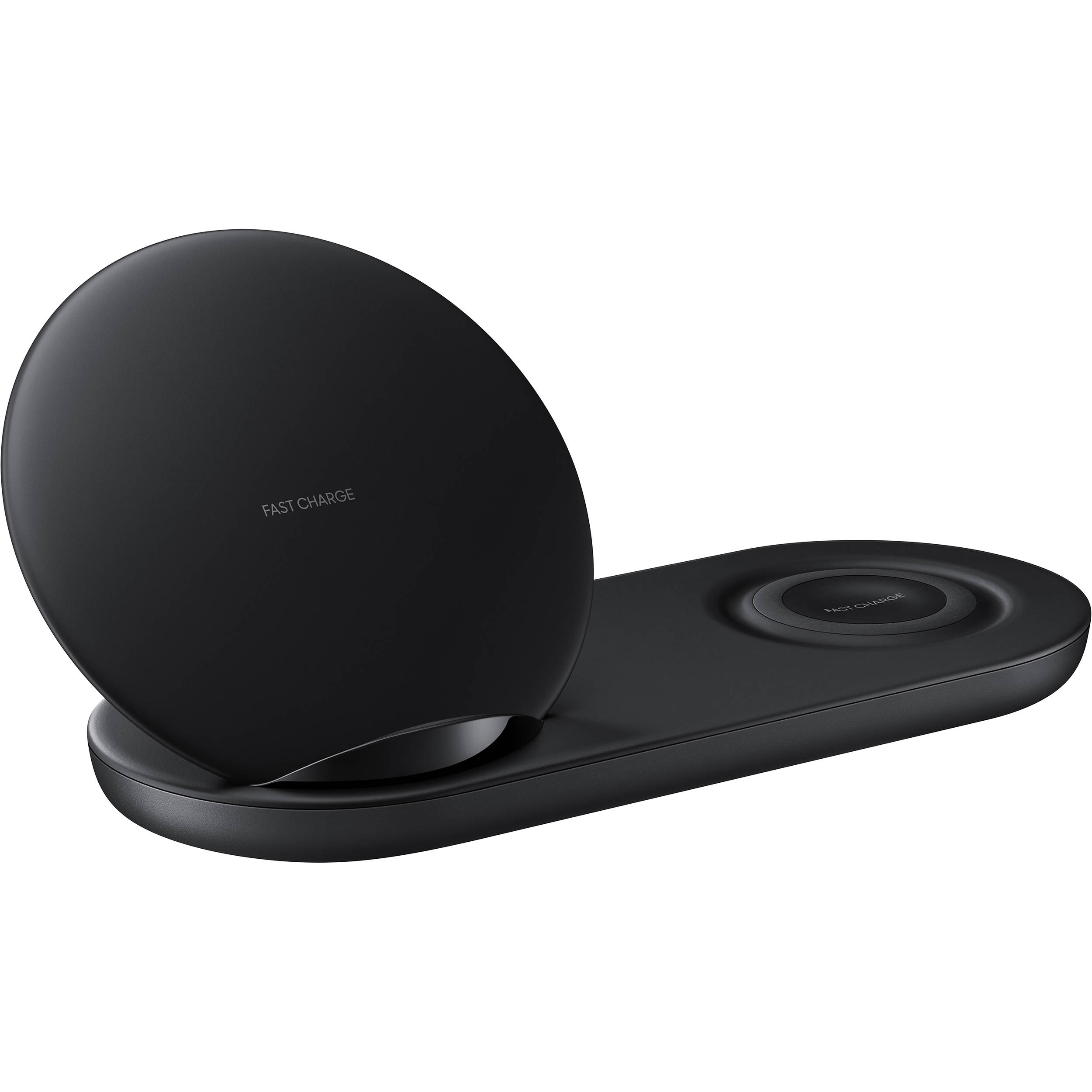 samsung qi wireless charger duo black ep n6100tbegus b h photo. Black Bedroom Furniture Sets. Home Design Ideas