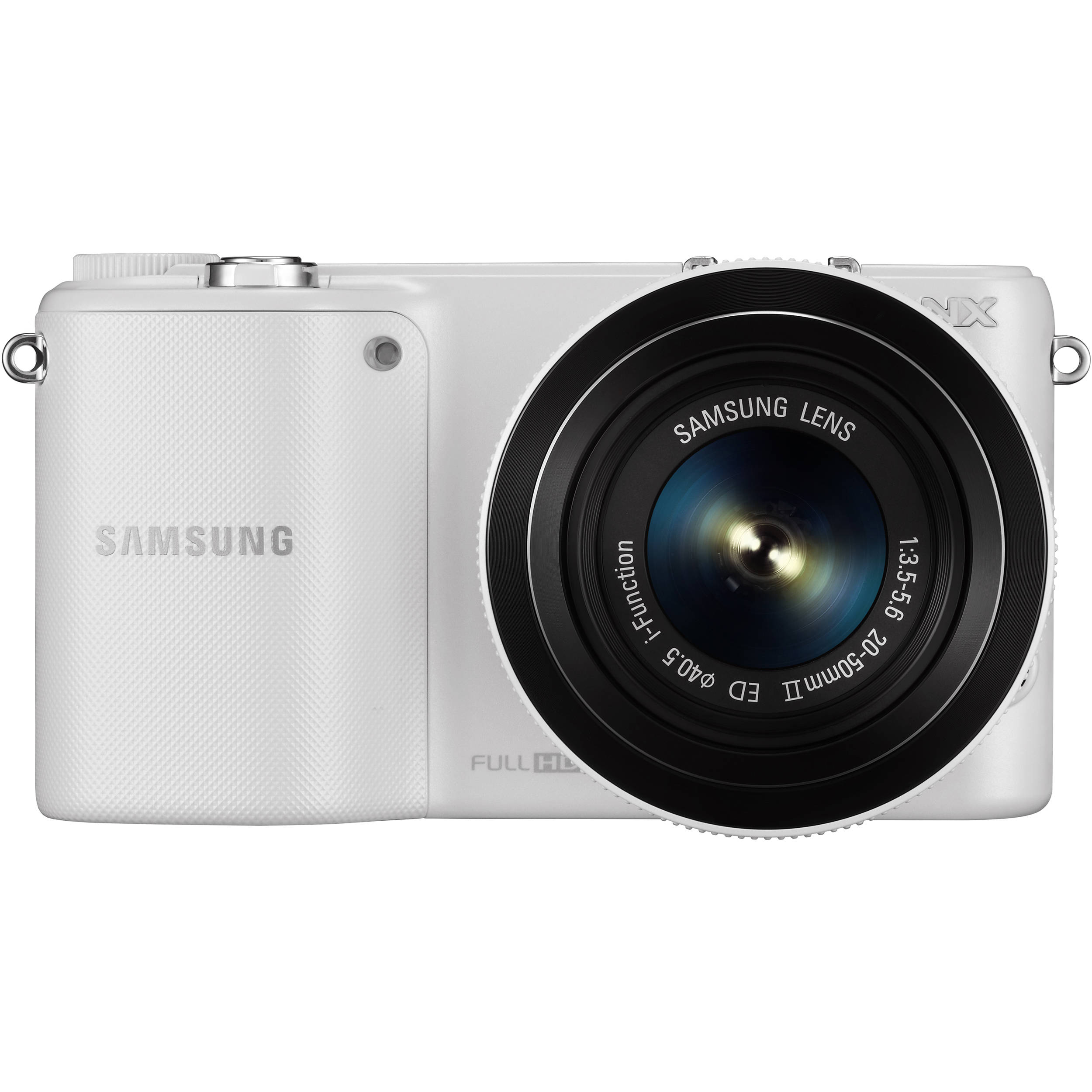 Samsung NX2000 Mirrorless Digital Camera EV-NX2000BFWUS B&H