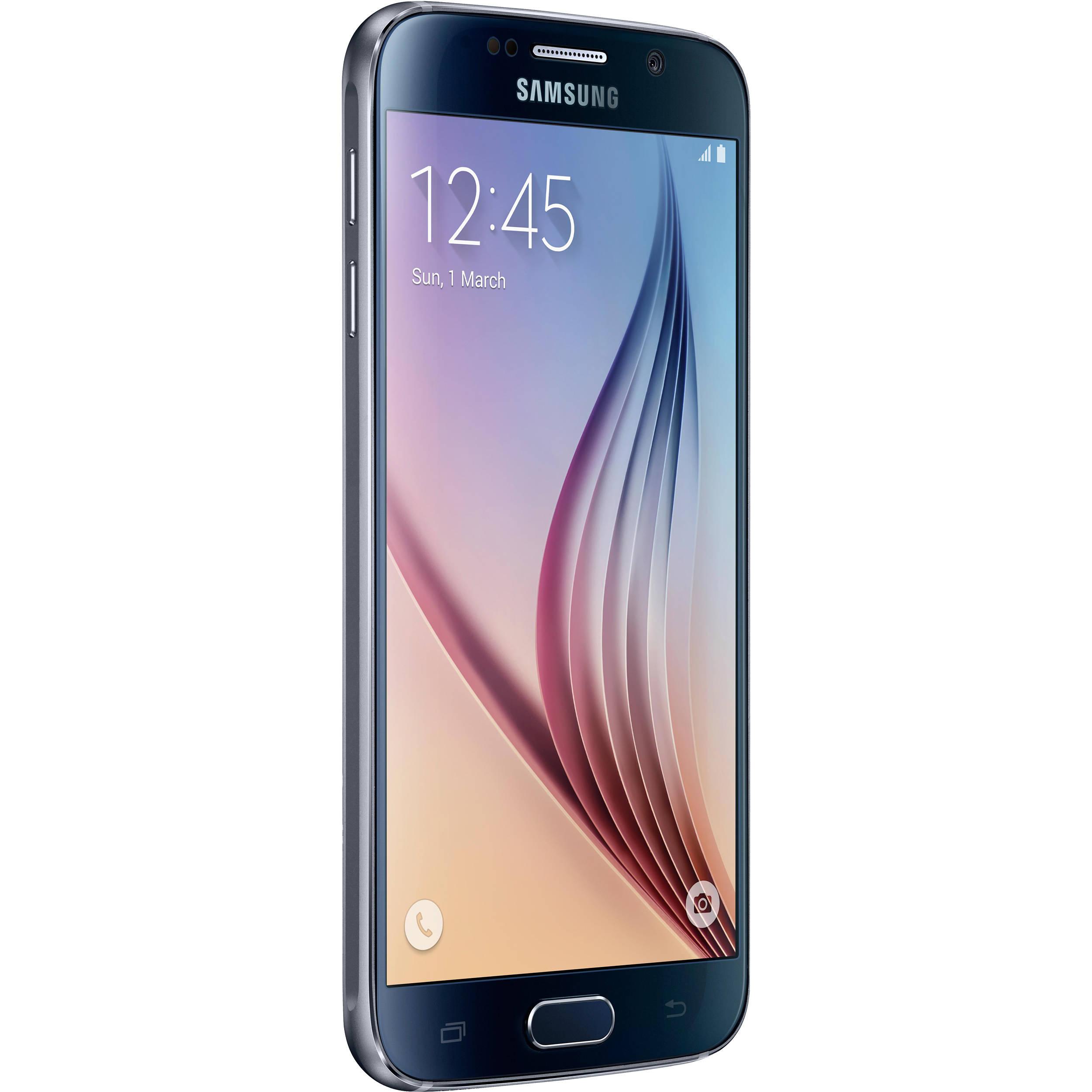 h samsung s6 samsung galaxy s6 sm g920i 64gb smartphone g920i 64gb blk b h