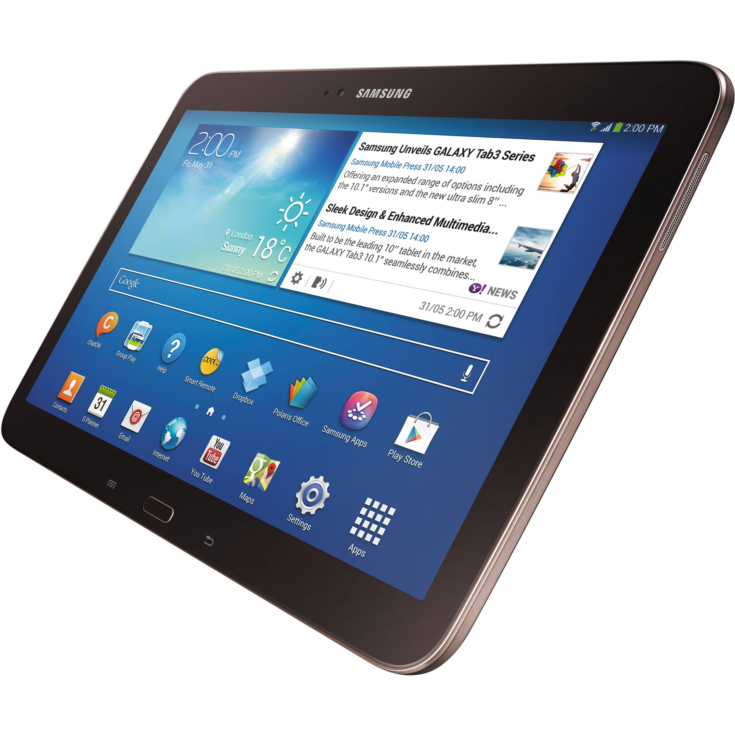 samsung 16gb galaxy tab 3 10 1 wi fi tablet gt p5210gnyxar. Black Bedroom Furniture Sets. Home Design Ideas
