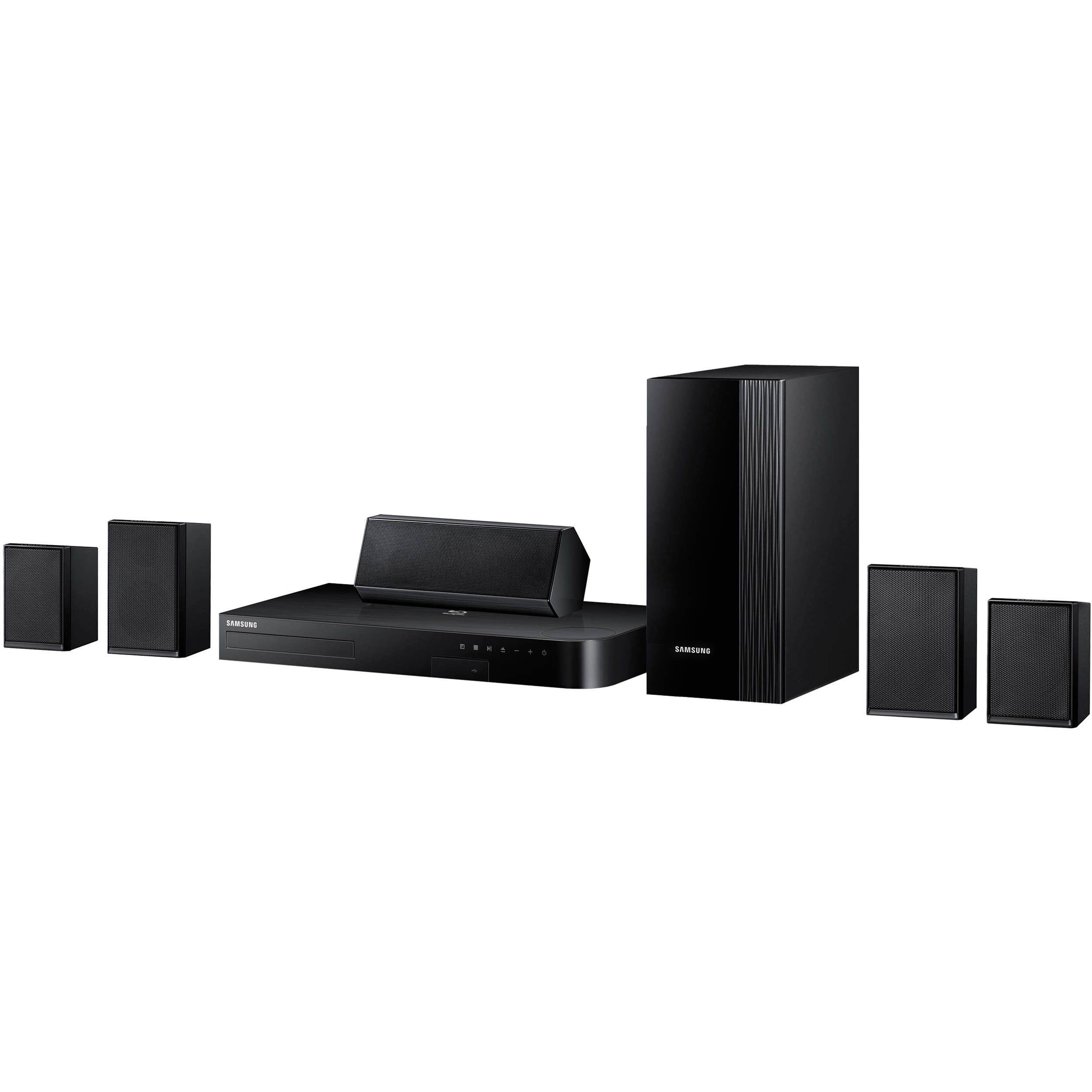 samsung ht j4100 5 1 channel blu ray home theater ht j4100 za. Black Bedroom Furniture Sets. Home Design Ideas