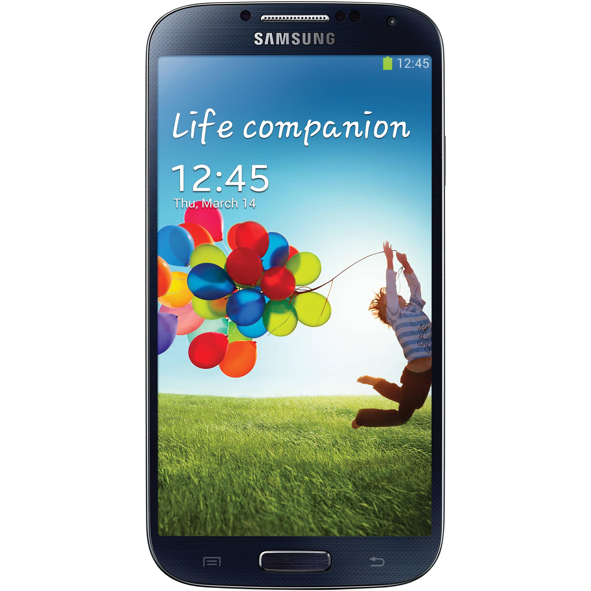 samsung galaxy s4 sgh i337 32gb at t branded i337 32gb black rh bhphotovideo com Walmart Android Phone AT&T HTC Tilt Phone