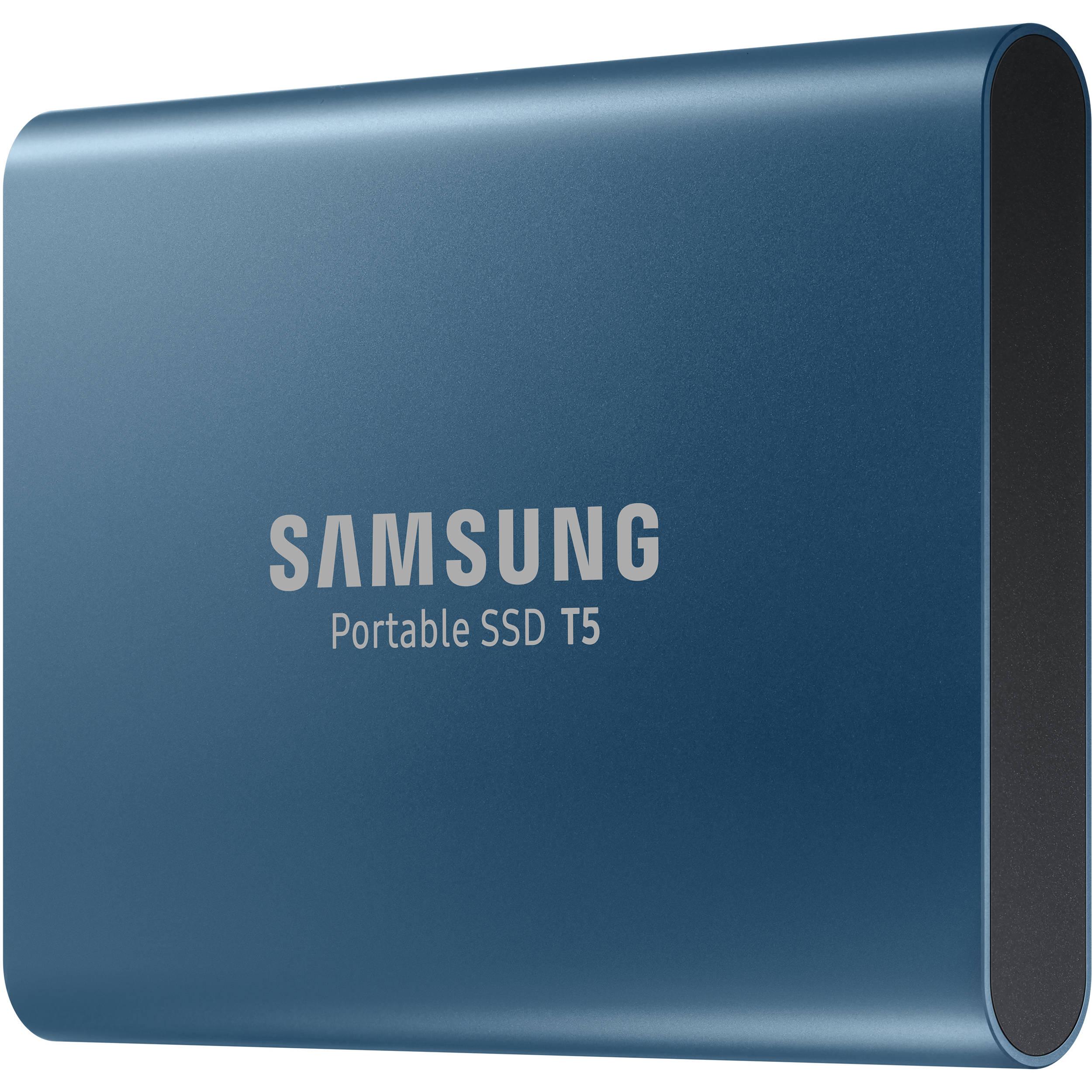 Samsung 250gb T5 Portable Solid State Drive Blue Mu Pa250b Am Hard Circuit Board Pcb