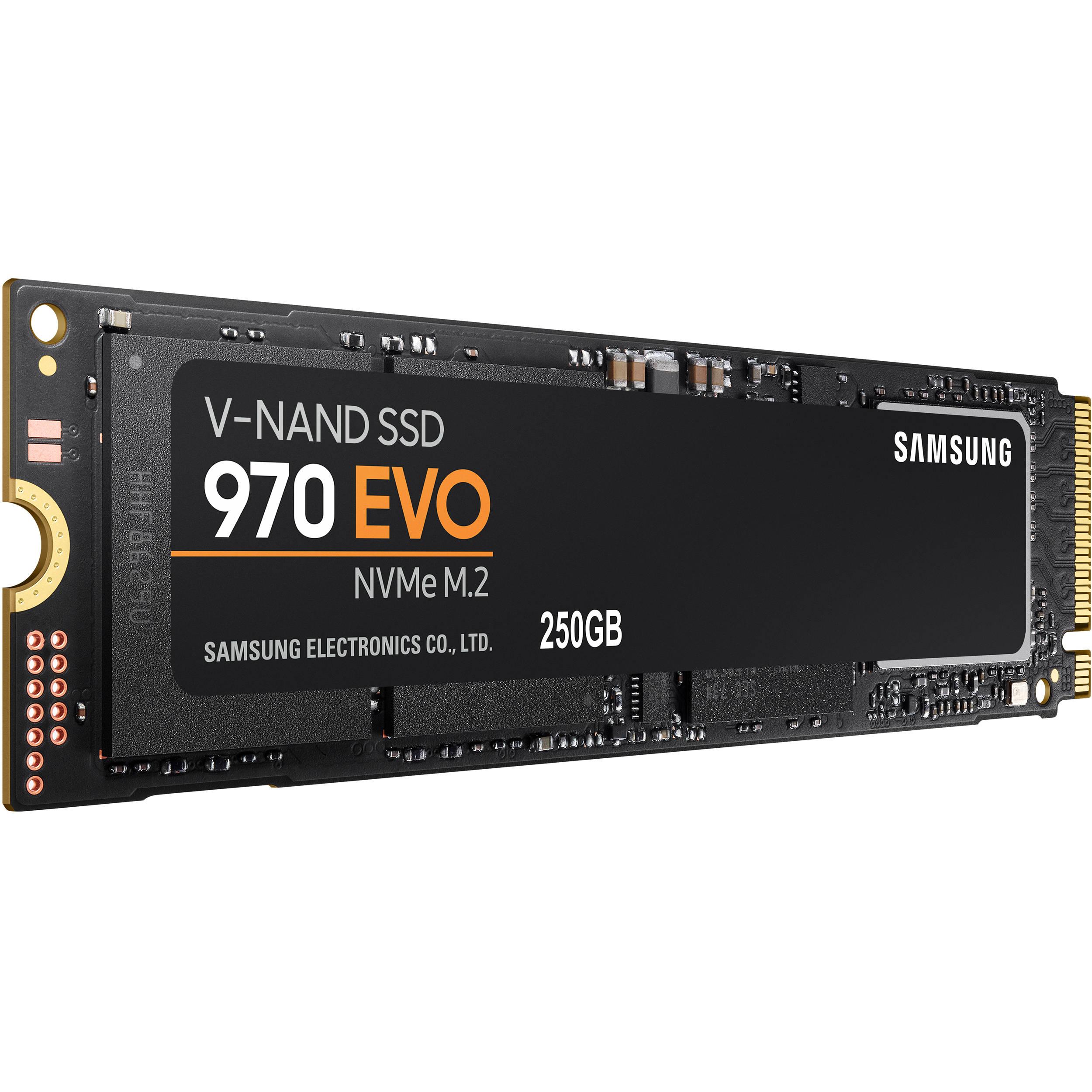 Samsung 250gb 970 Evo Nvme M 2 Internal Ssd Mz V7e250bw B H