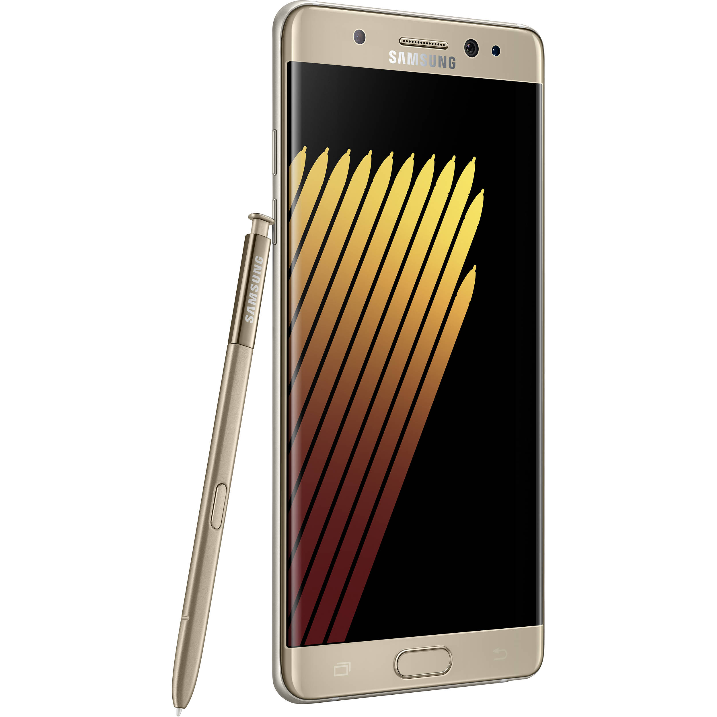 samsung galaxy note 7 n930f 64gb smartphone n930f gold b h photo