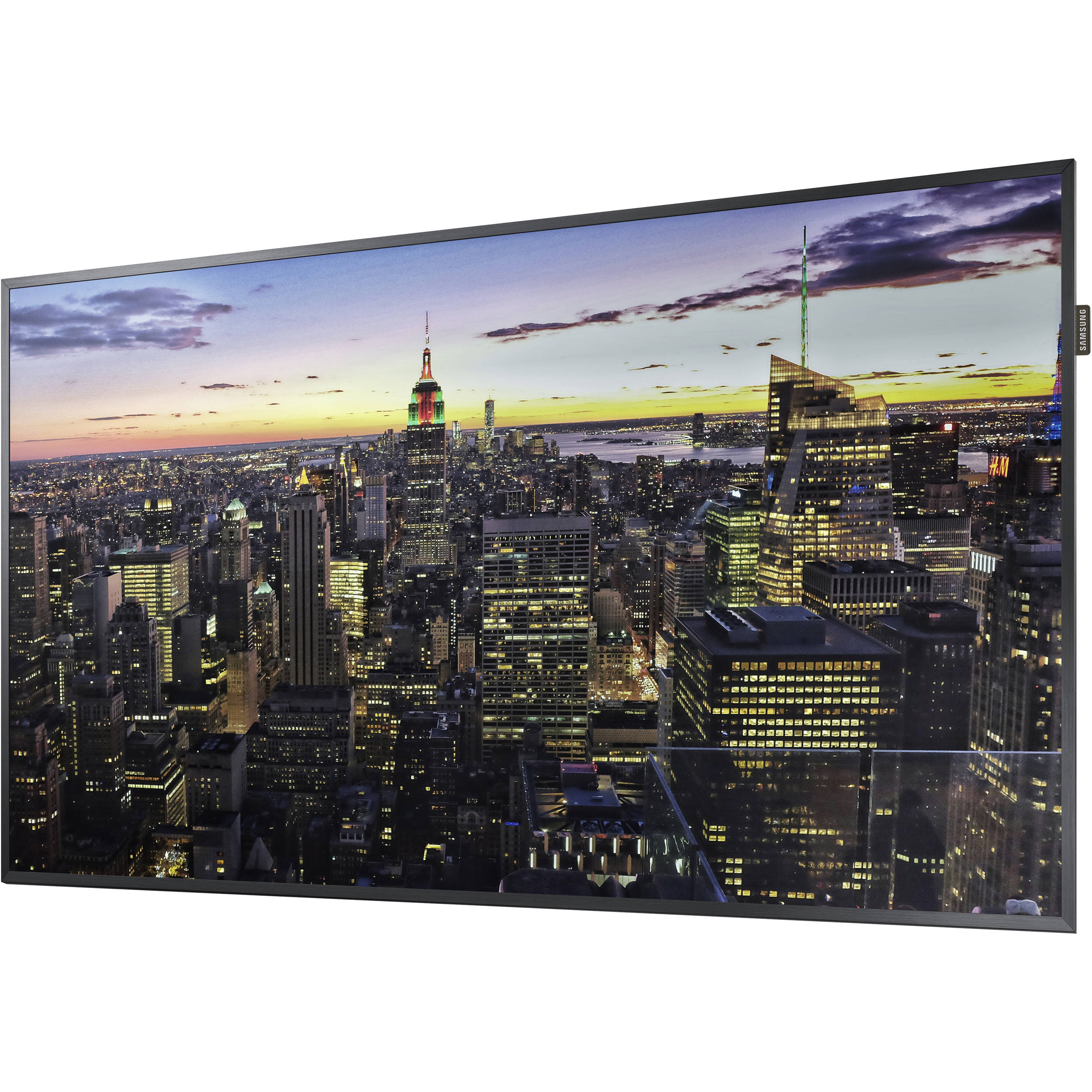 Samsung Commercial Displays >> Samsung Qm65h 65 Class Uhd Commercial Smart Led Qm65h B H