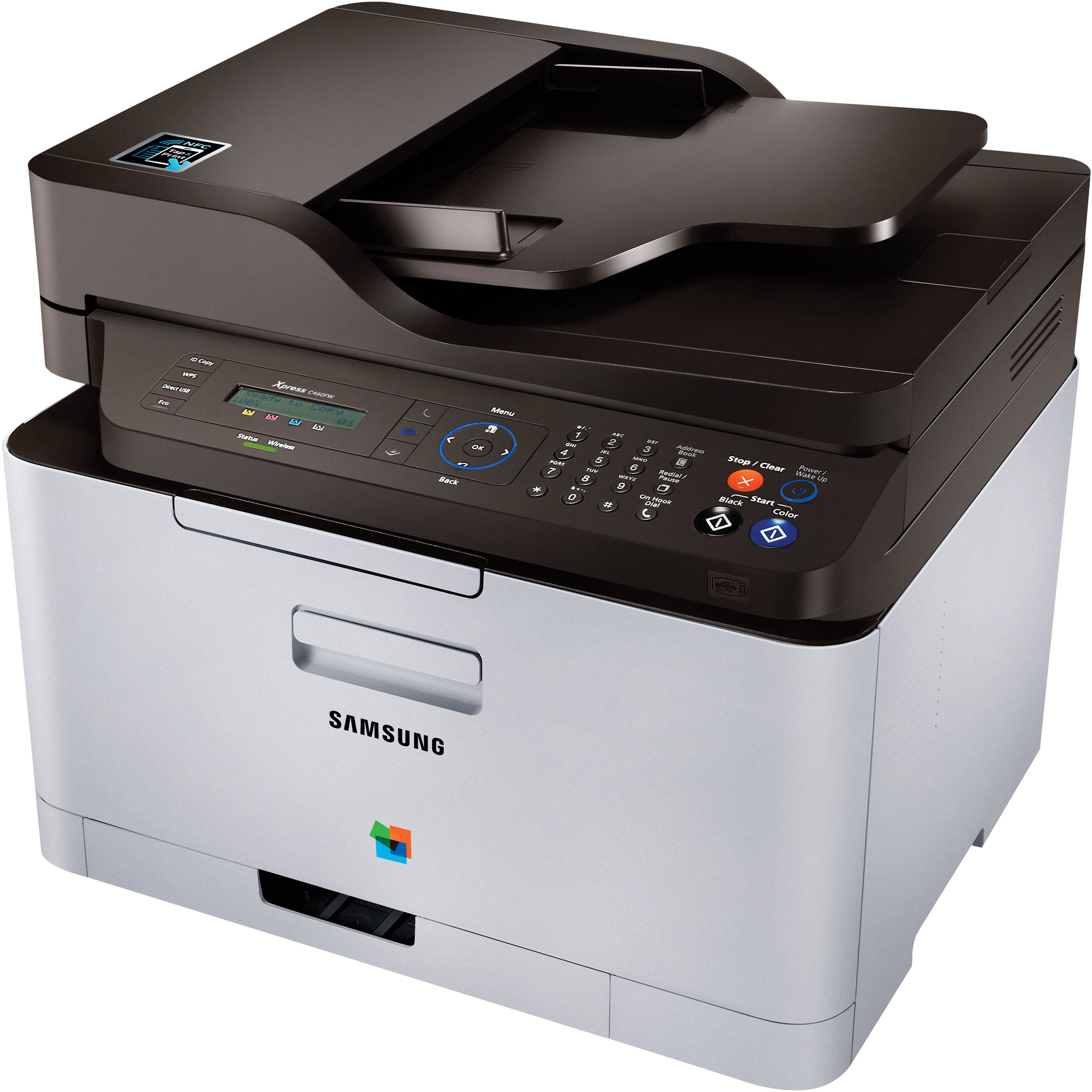 New Drivers: Samsung Xpress C460FW MFP (Add Printer)