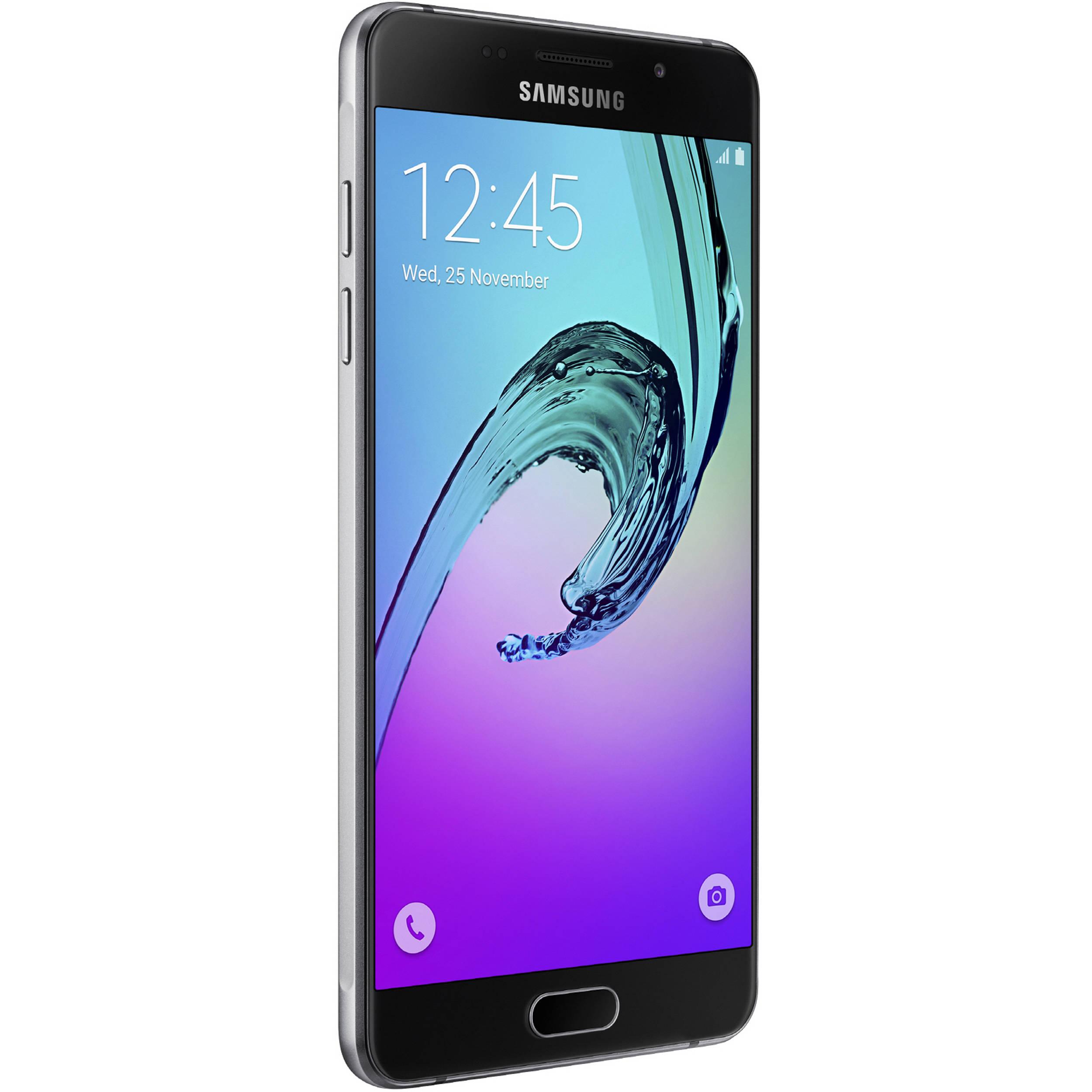 Samsung Galaxy A5 Duos A510M 2nd Gen 16GB Smartphone Region Specific Unlocked Black