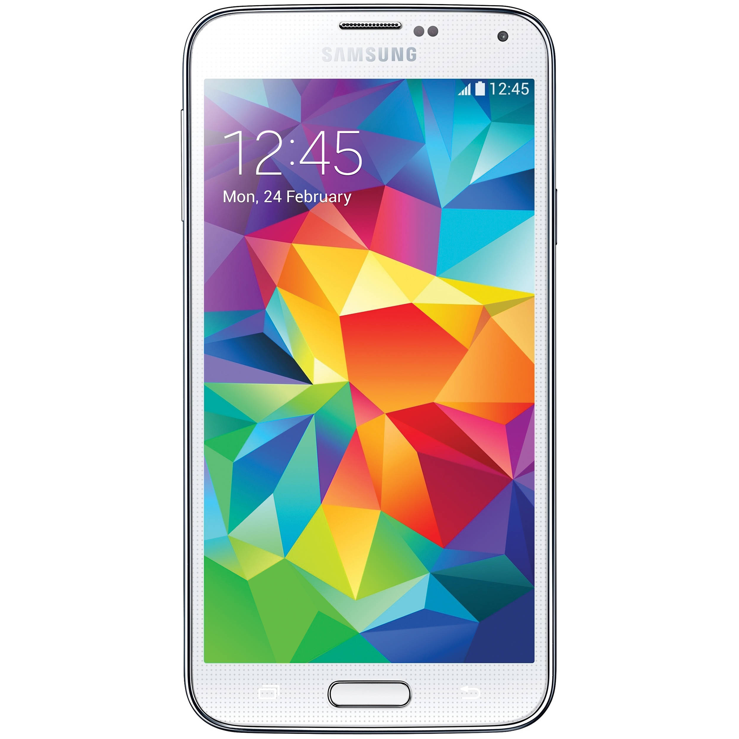 samsung galaxy s5. samsung galaxy s5 sm-g900a 16gb at\u0026t branded smartphone (unlocked, shimmery white) t