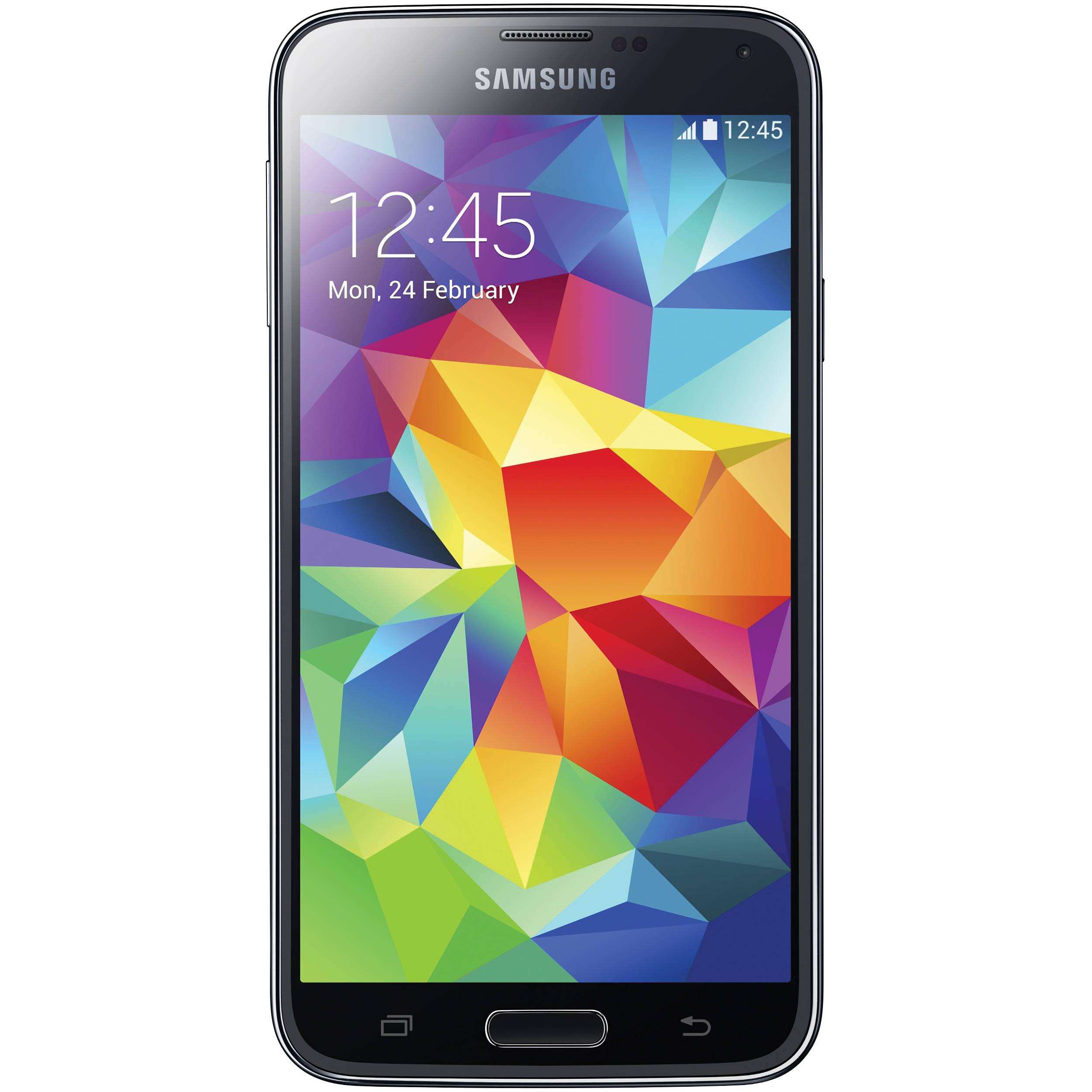 Samsung Galaxy S5 Sm G900f 16gb Smartphone Sm G900f Black B H