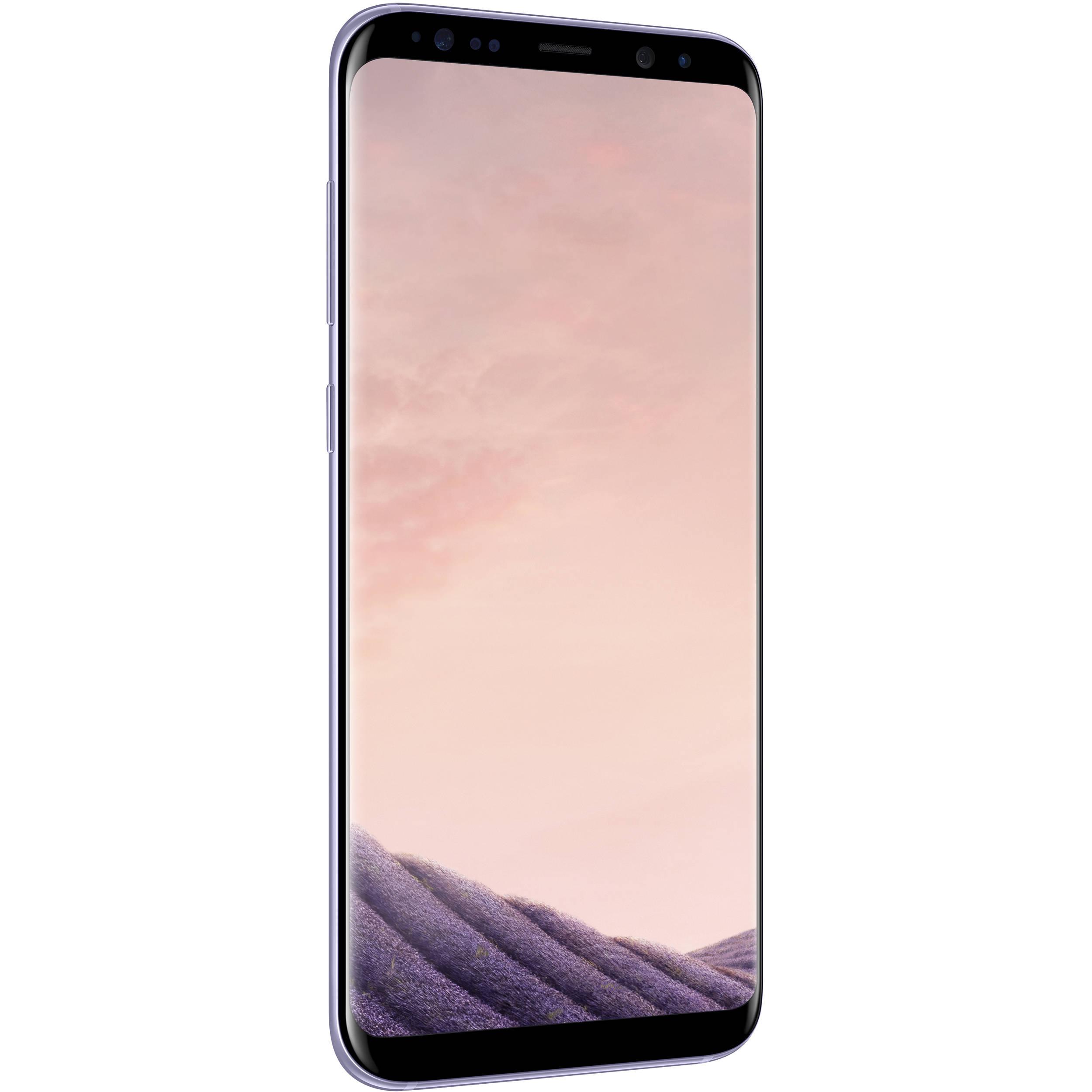 Samsung Galaxy S8 SM G955F 64GB Smartphone Unlocked Orchid Gray
