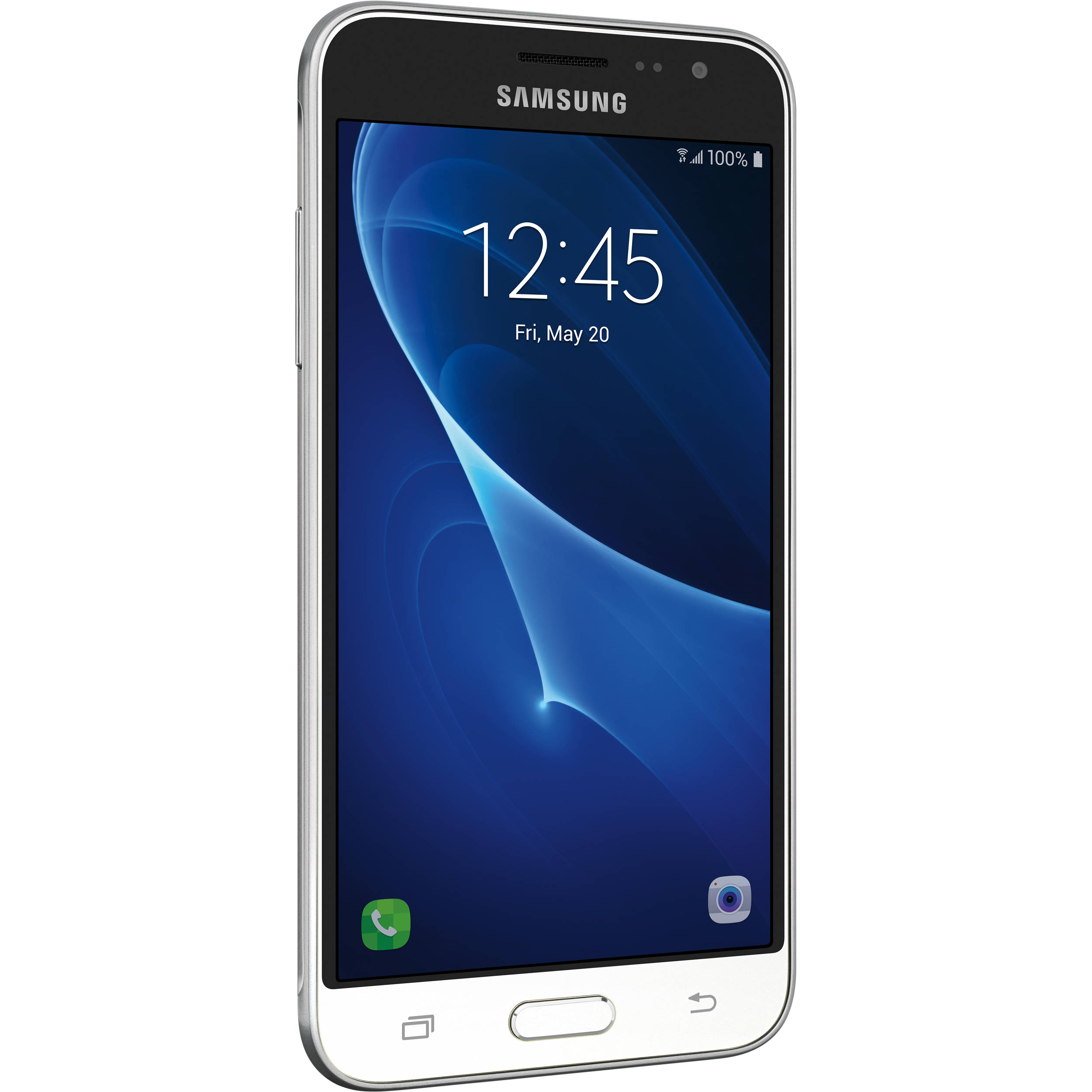 Samsung Galaxy J3 J320 16GB Smartphone SM-J320AZWAXAR B&H Photo