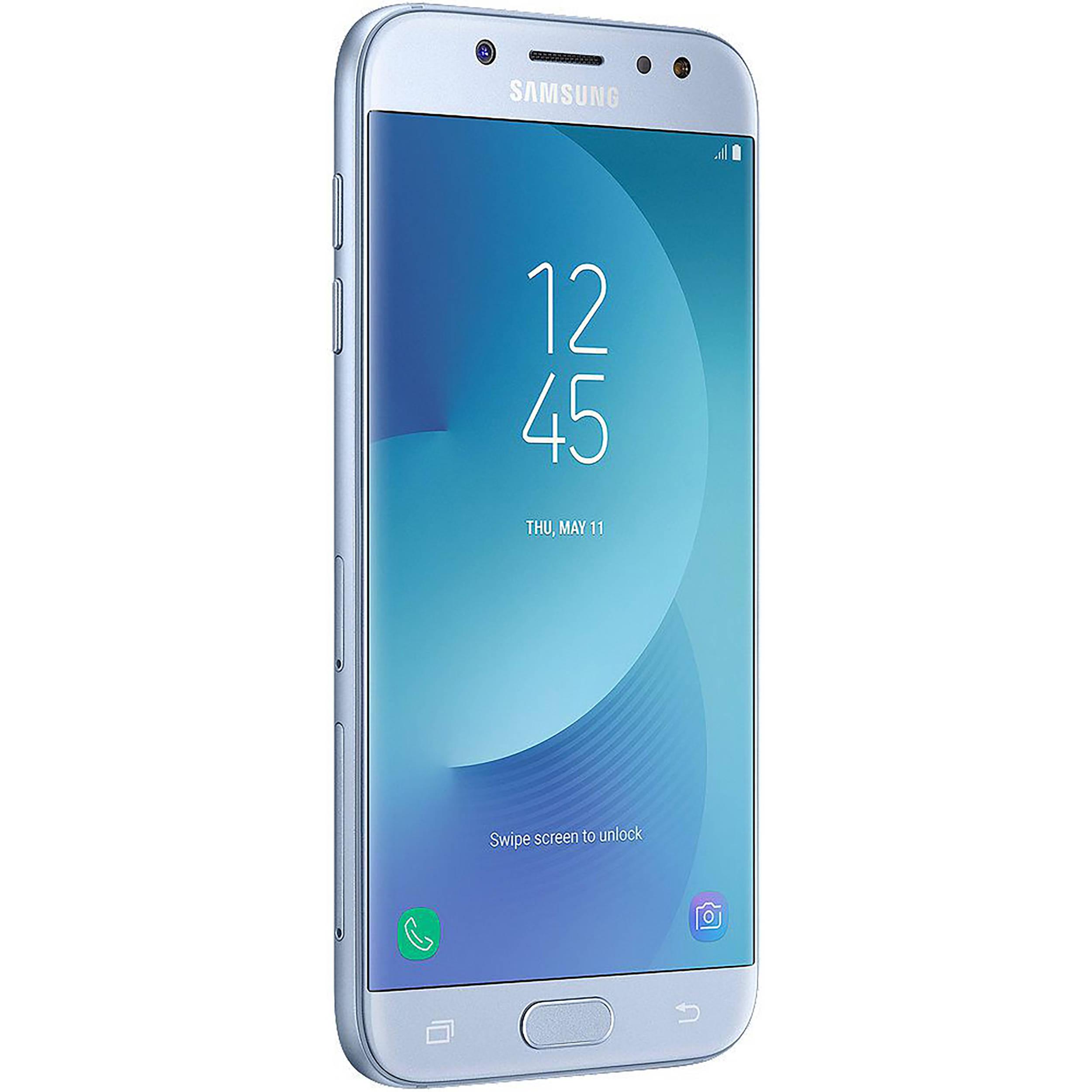 Samsung Galaxy J5 Pro SM J530G 16GB Smartphone Region Specific Unlocked Blue Silver