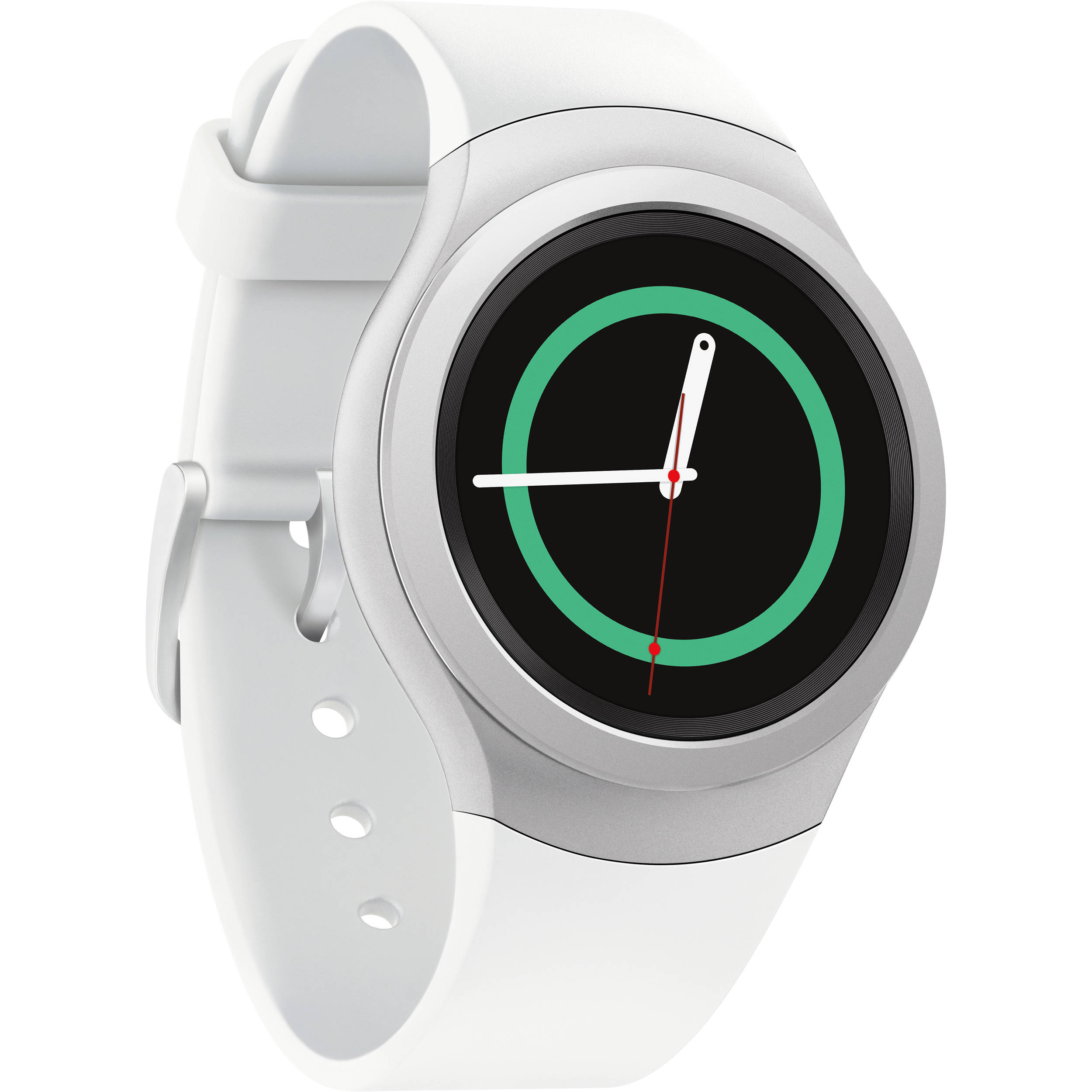 samsung gear s2 smartwatch white sm r7200zwaxar b h photo. Black Bedroom Furniture Sets. Home Design Ideas
