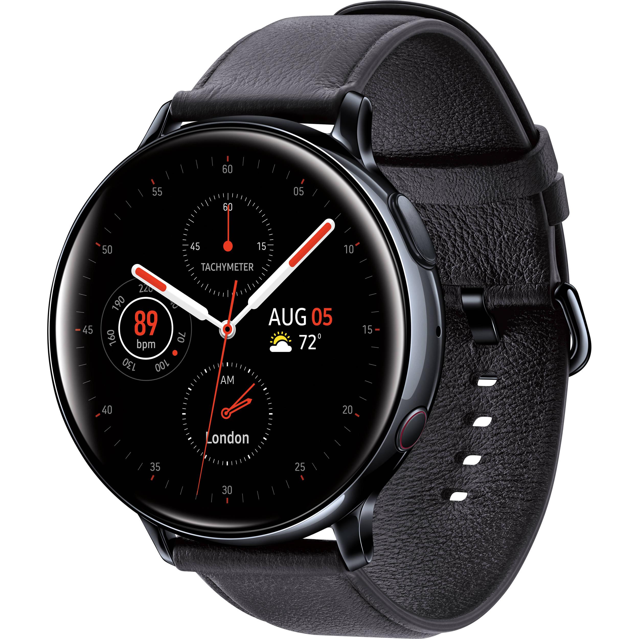 Samsung Galaxy Watch Active2 LTE Smartwatch SM-R825USKAXAR B&H