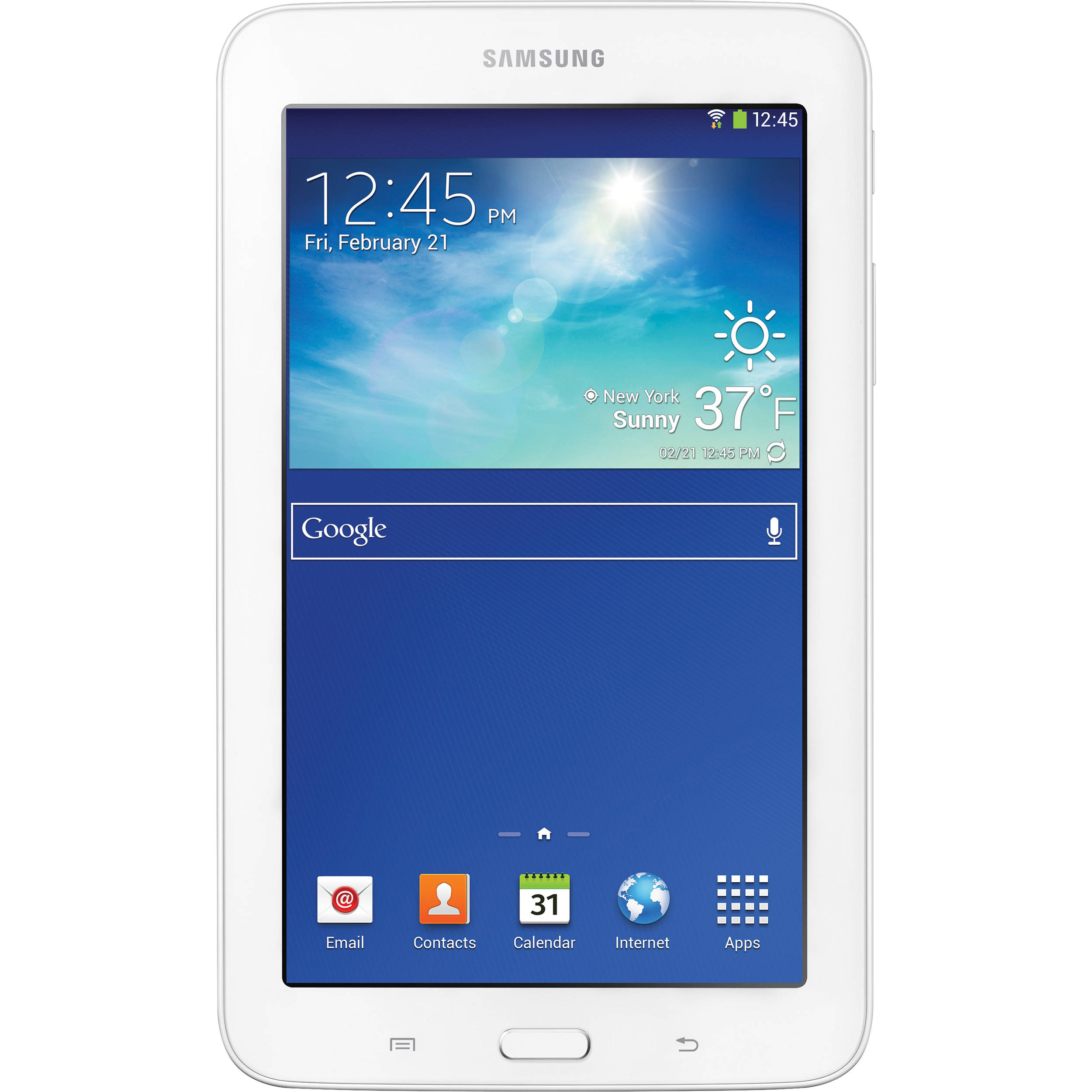 devices samsung galaxy tab 3 7 0 wi fi only 8gb white. Black Bedroom Furniture Sets. Home Design Ideas