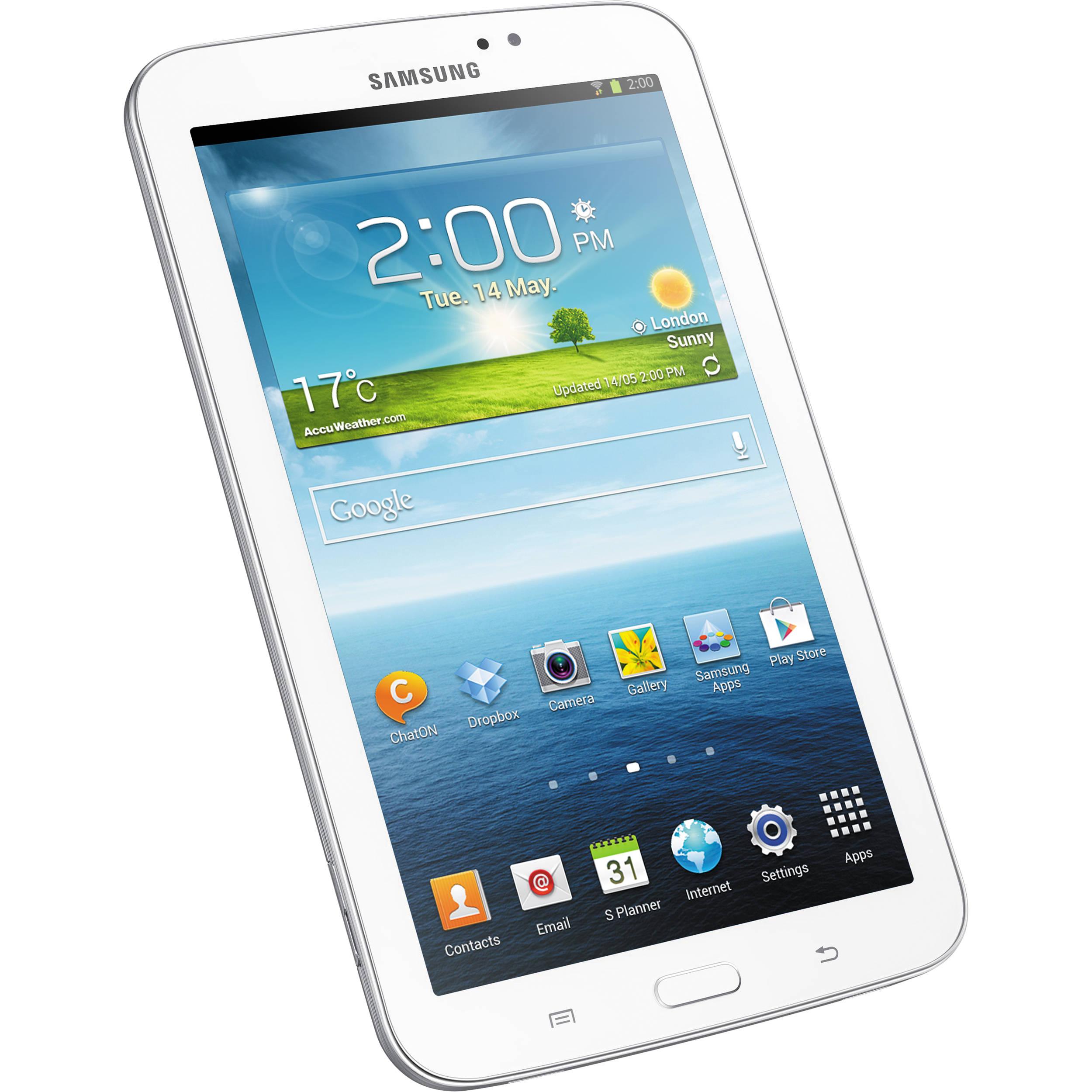 Used samsung 8gb galaxy tab 3 multi touch sm t210rzwyxar b h - Six uses old tablet ...