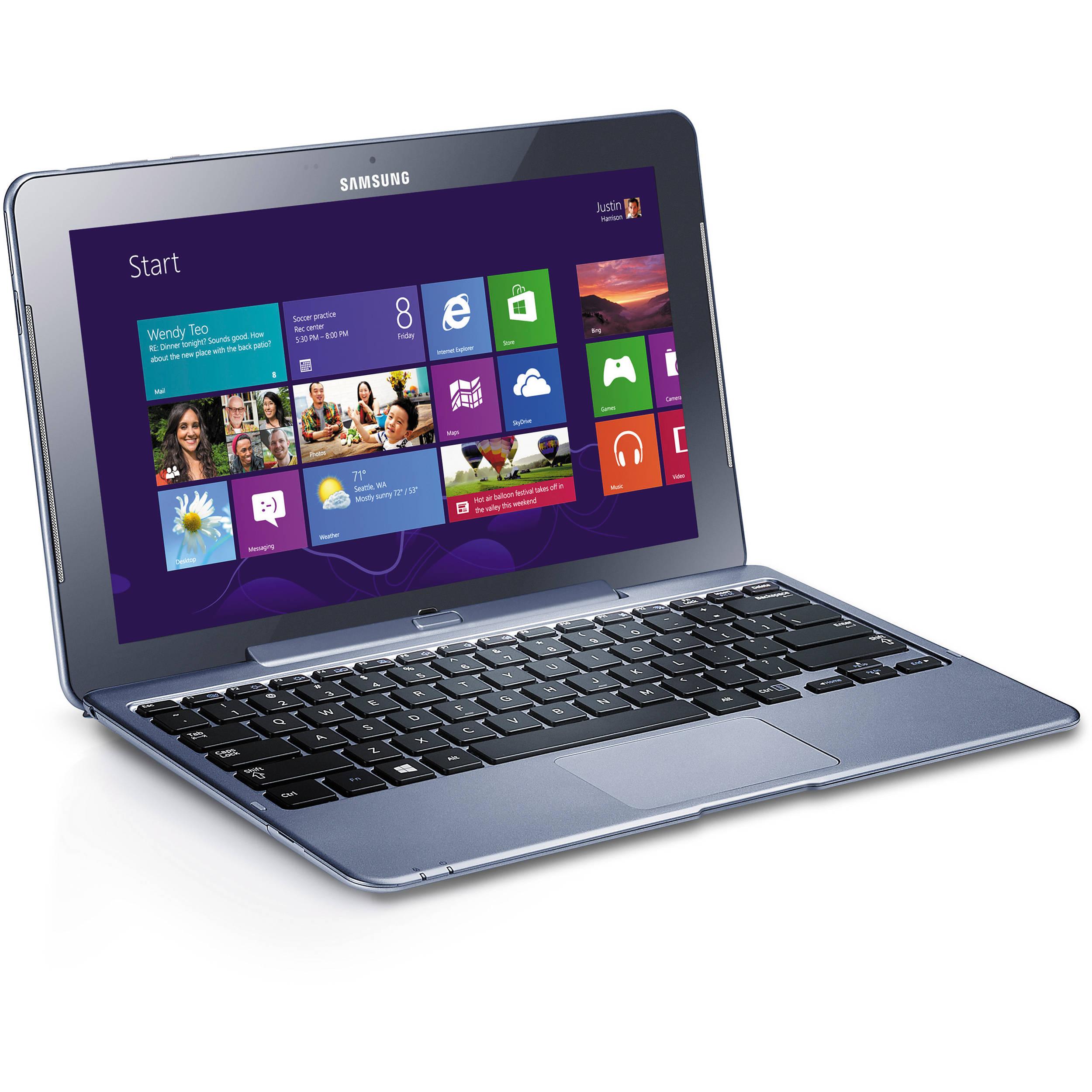 "Samsung 64GB ATIV Tab 5 11.6"" Tablet XE500T1C-K01US B&H"