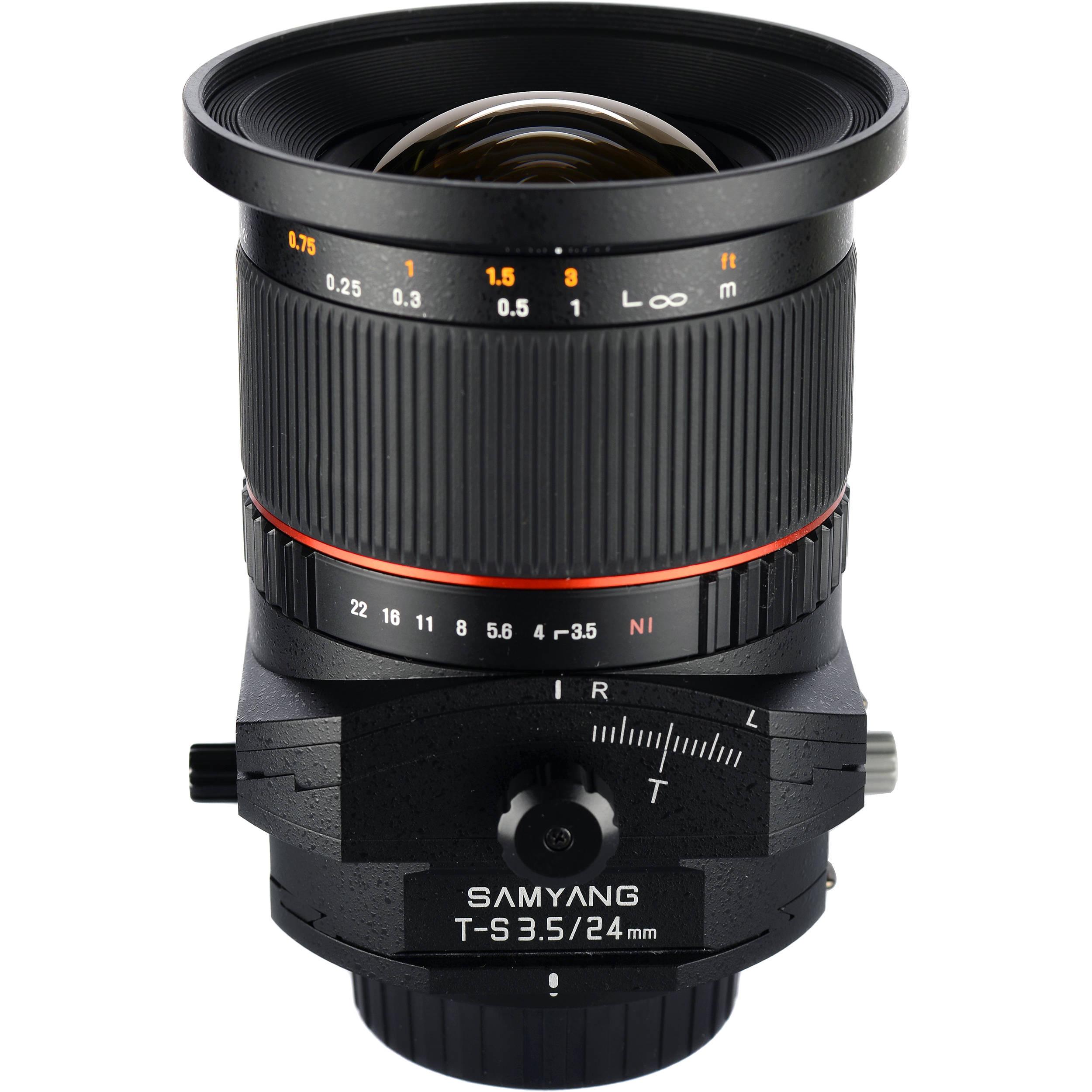 Samyang 24mm F 3 5 Ed As Umc Tilt Shift Lens For Sony Syts24 S