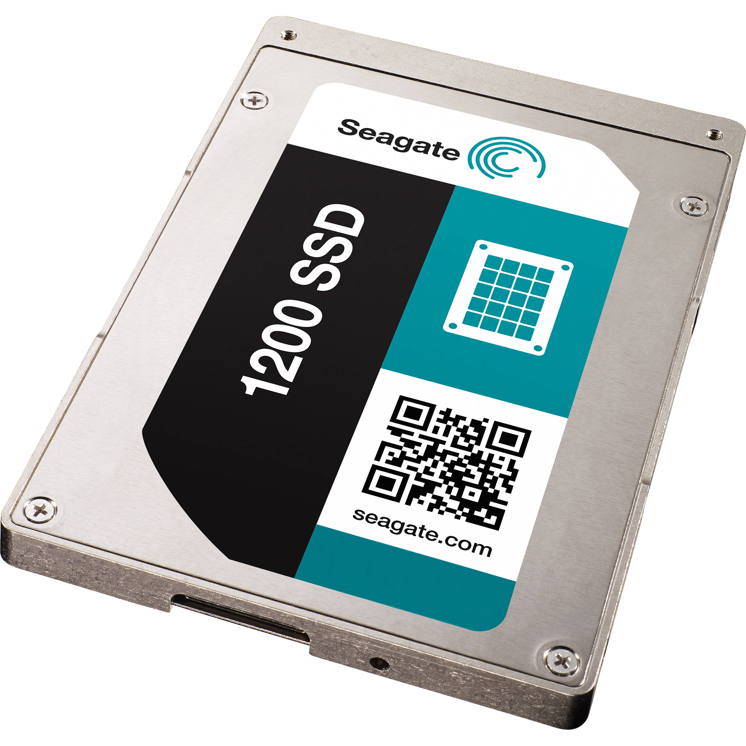 Seagate 400gb 1200 25 Sas Sed Internal Ssd St400fm0073 Sata Controller With Encryption