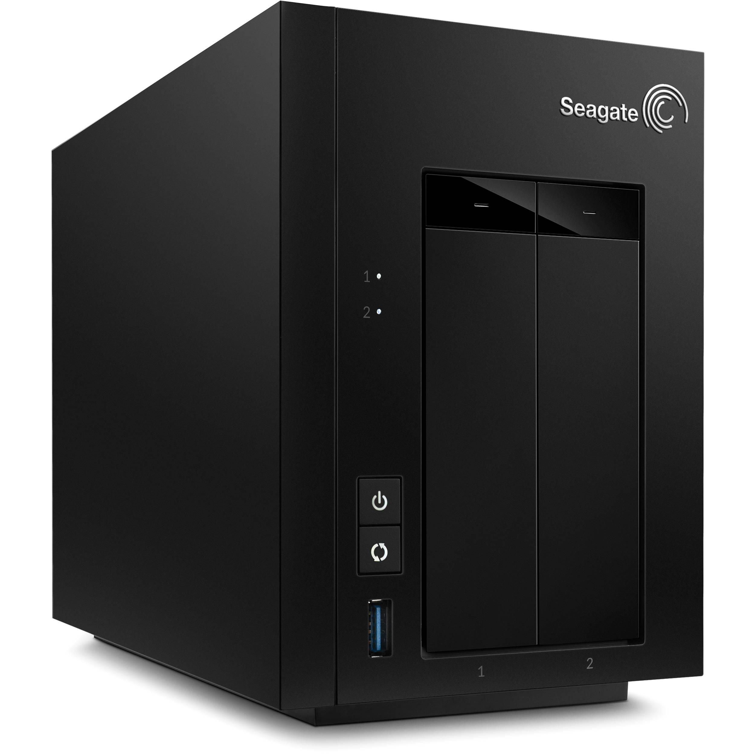 Seagate 2tb 1 x 2tb stct2000100 2 bay nas server stct2000100 for Storage bay