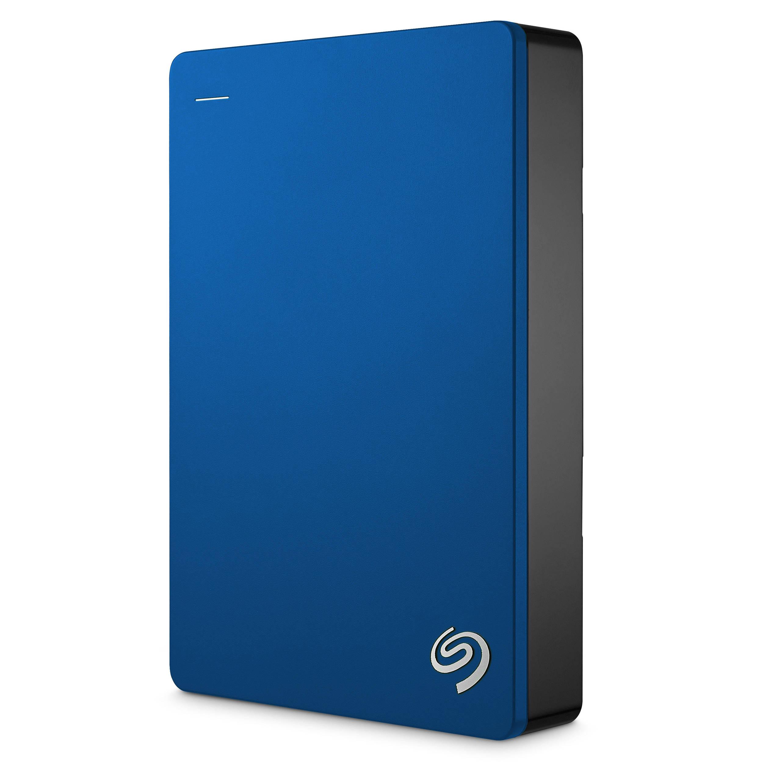 Seagate Bup Slim Portable 2tb Hard Drive Blue Workshop Backup Plus Harddisk Eksternal 1tb 25inch Usb30 Silver Free Pouch Pen