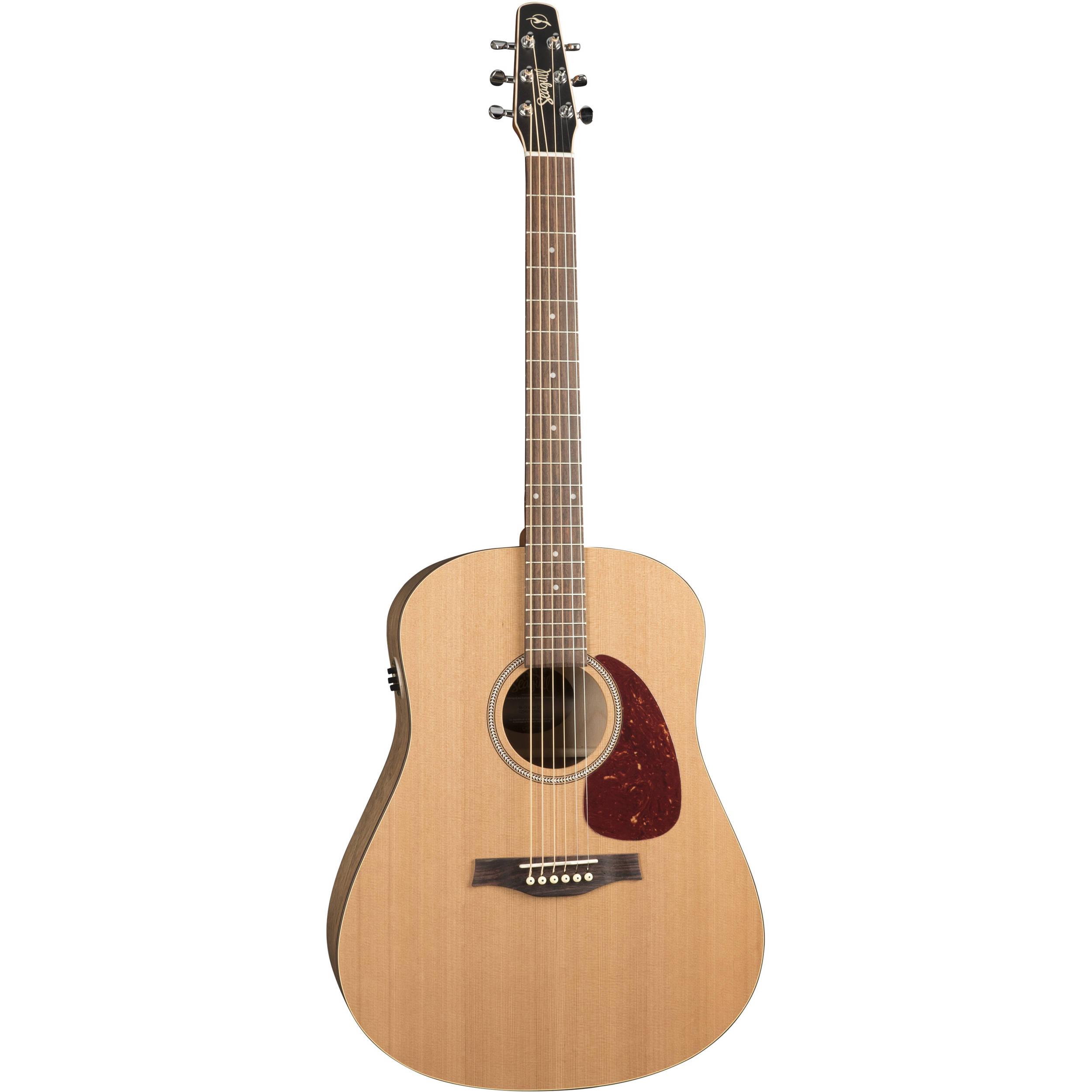 seagull guitars s6 original slim qit acoustic electric 046416. Black Bedroom Furniture Sets. Home Design Ideas