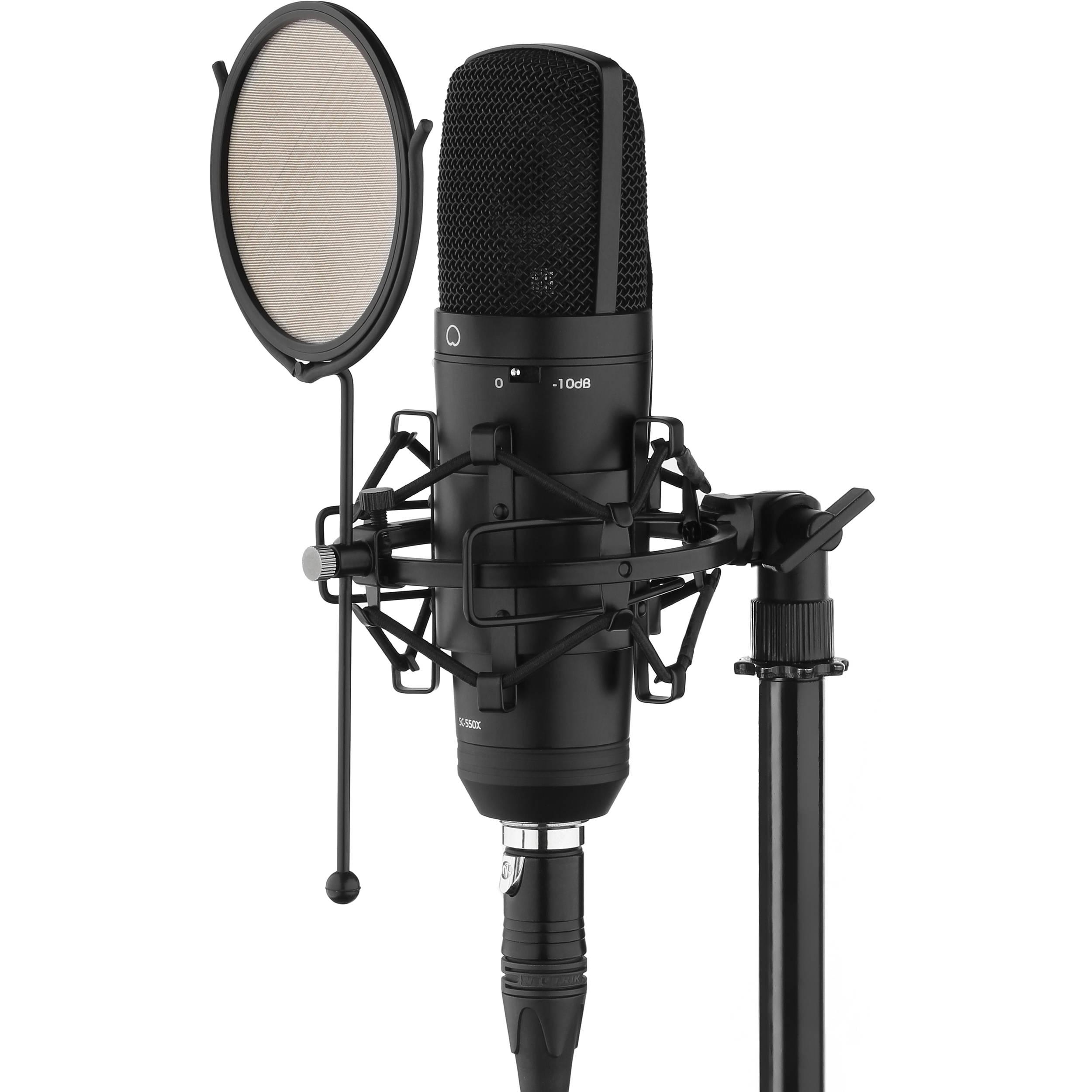 Senal SC-550X Professional Cardioid Condenser Microphone ...