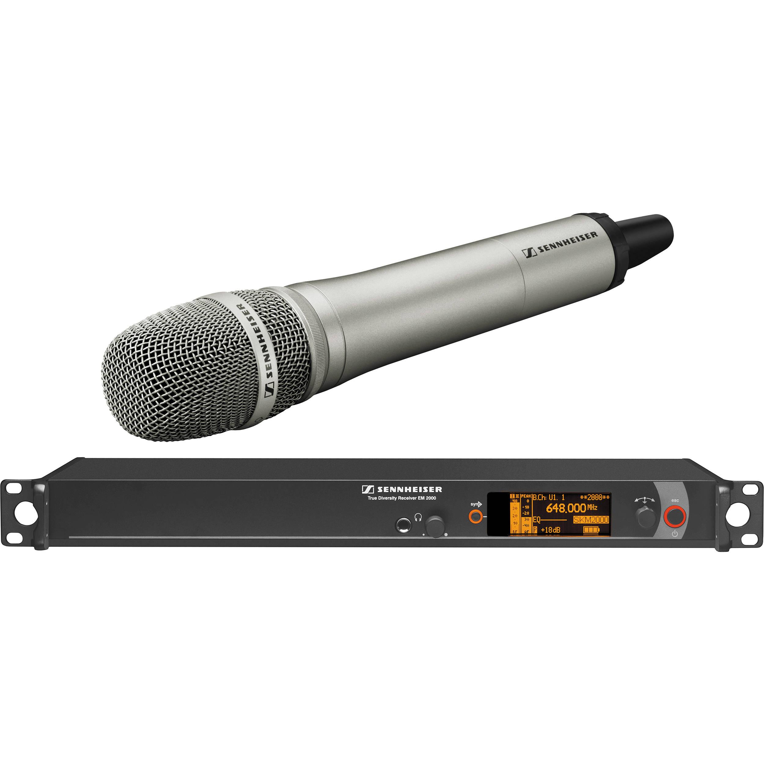 sennheiser 2000 series single handheld wireless 2000h1 205ni a rh bhphotovideo com sennheiser xs wireless microphone manual sennheiser wireless mic ew 100 g3 manual