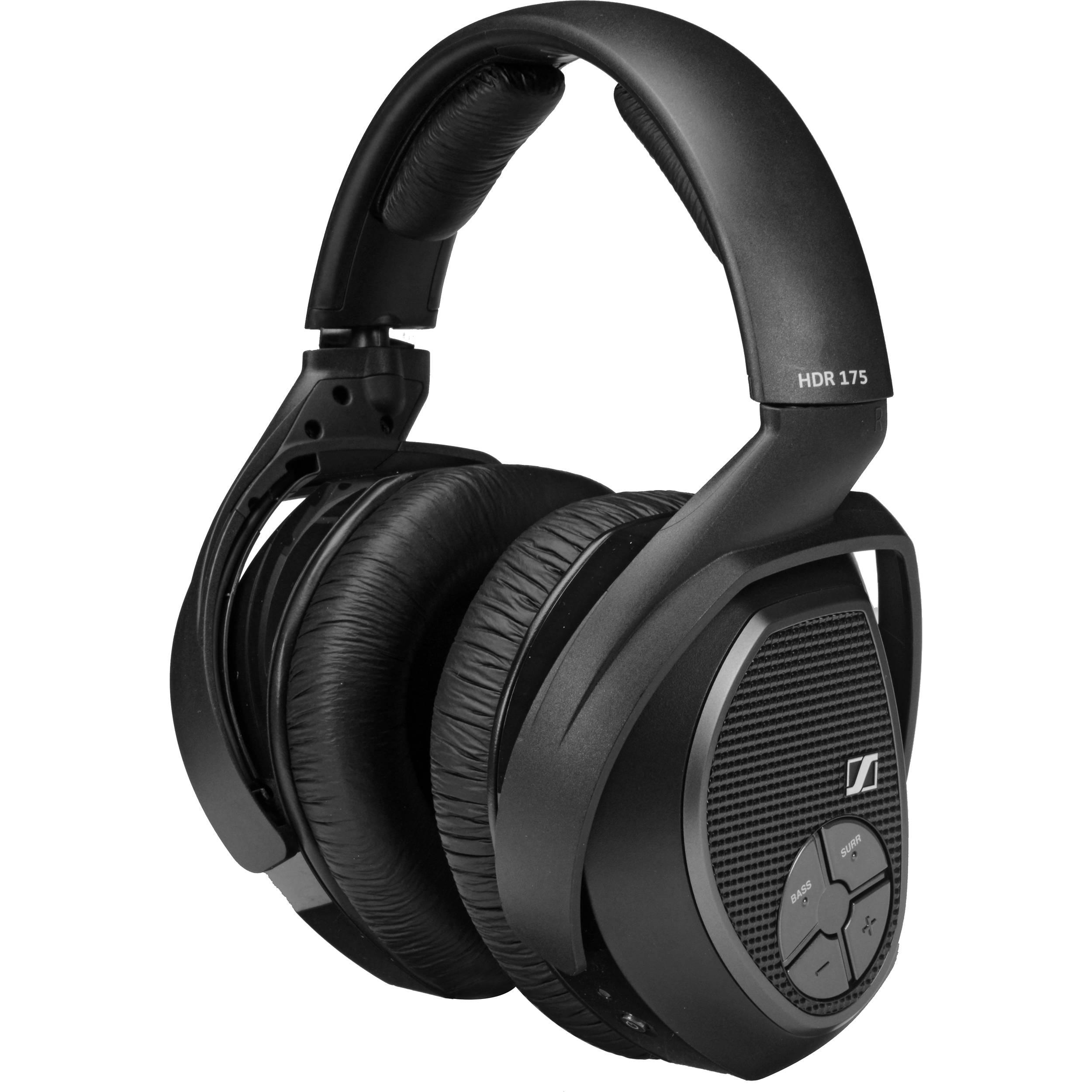 Sennheiser HDR 175 Headset for RS 175 System 505582 B&H Photo