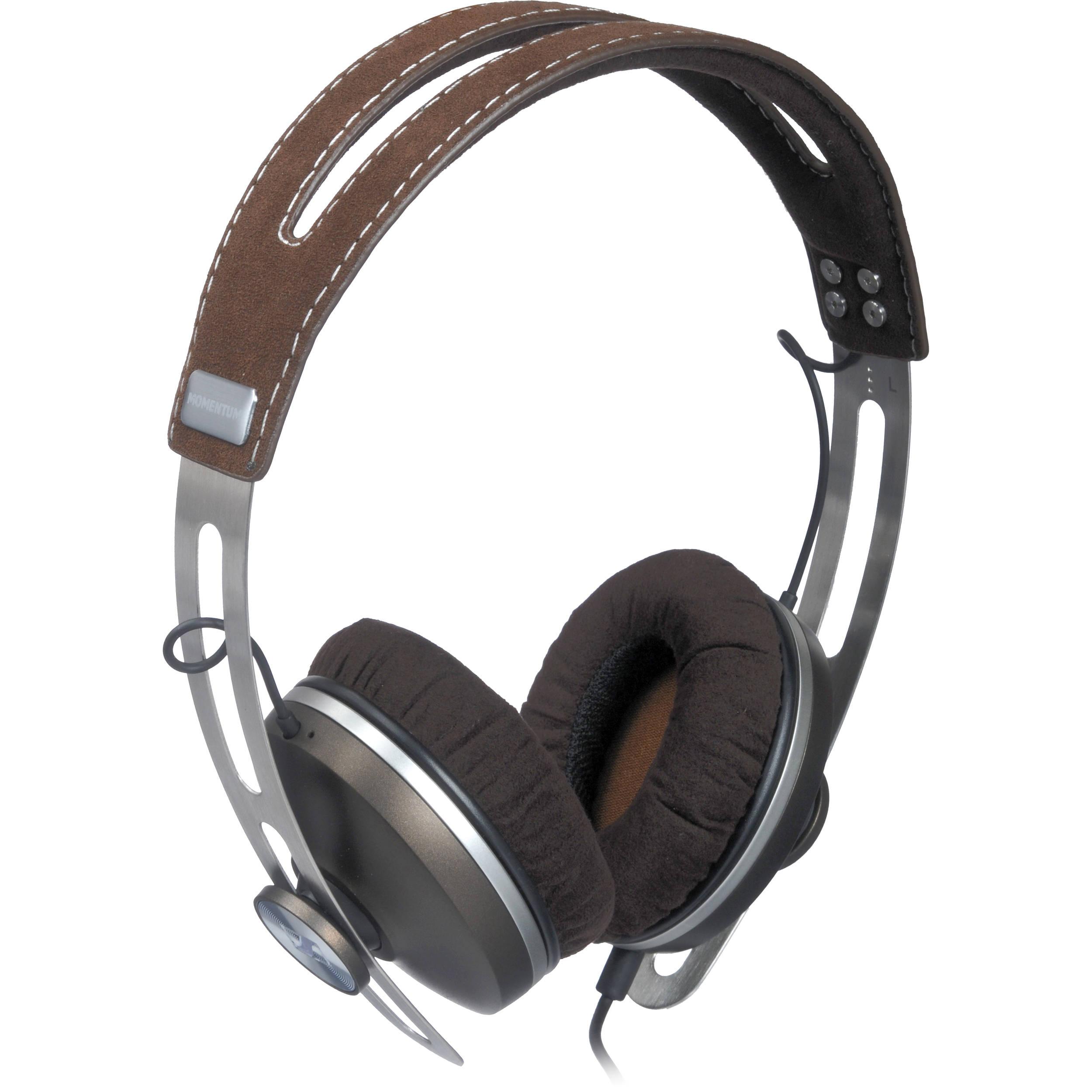 Sennheiser Momentum On-Ear Headphones (Brown) 505796 B H Photo 26e0ef6543