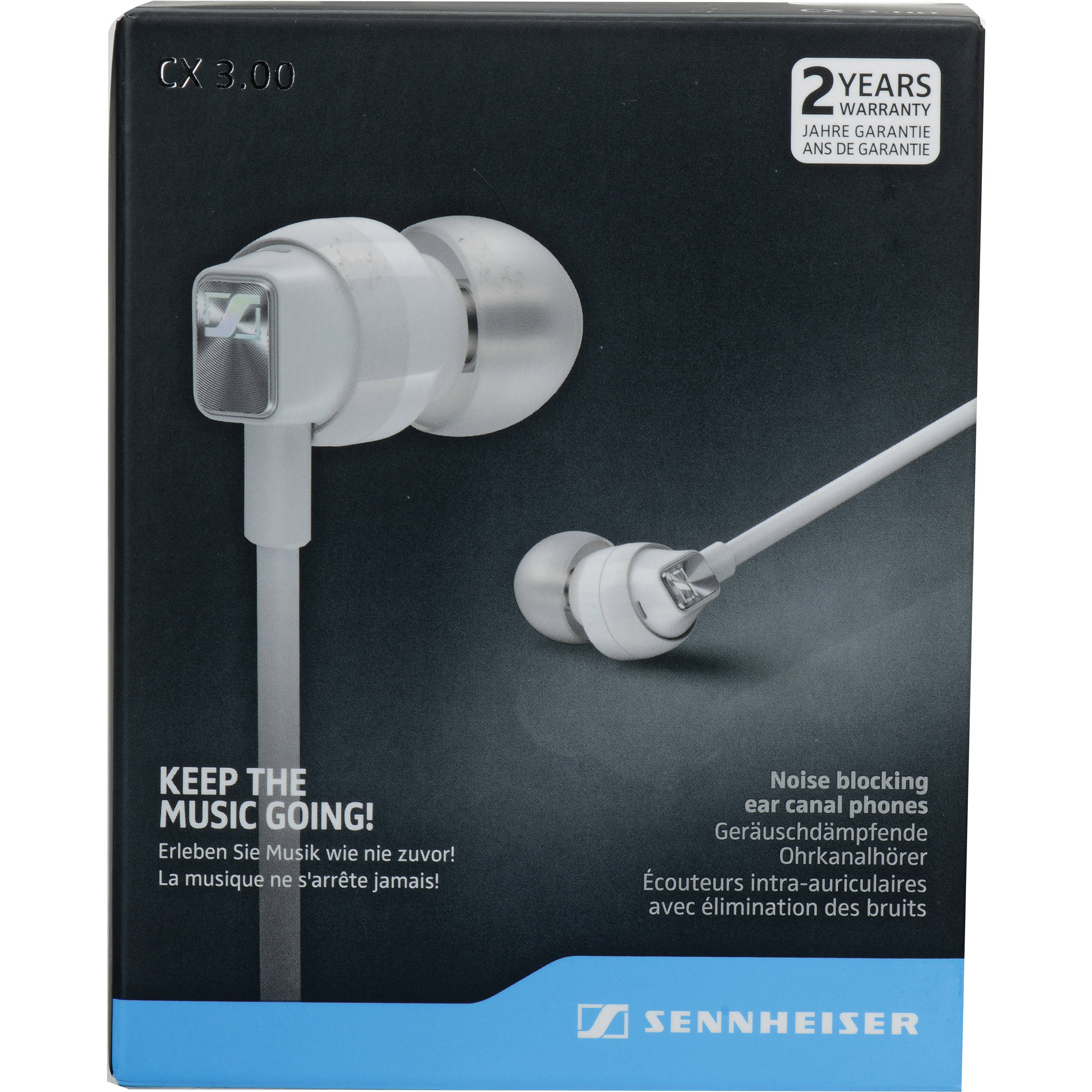sennheiser cx 3 00 earphones white 506246 b h photo video rh bhphotovideo com sennheiser t60 user manual sennheiser user manuals