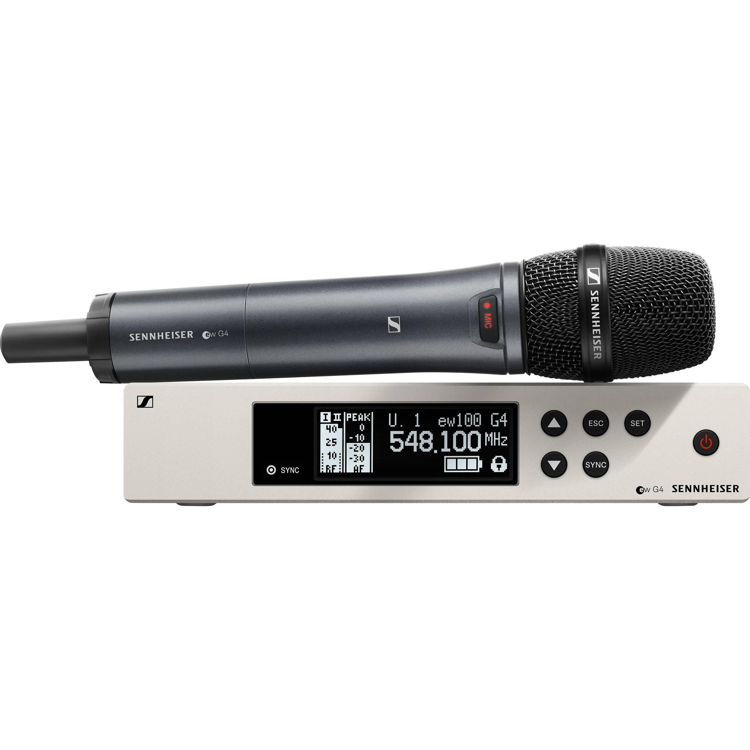 Sennheiser EW 112P G4 – Camera Mount Wireless Microphone