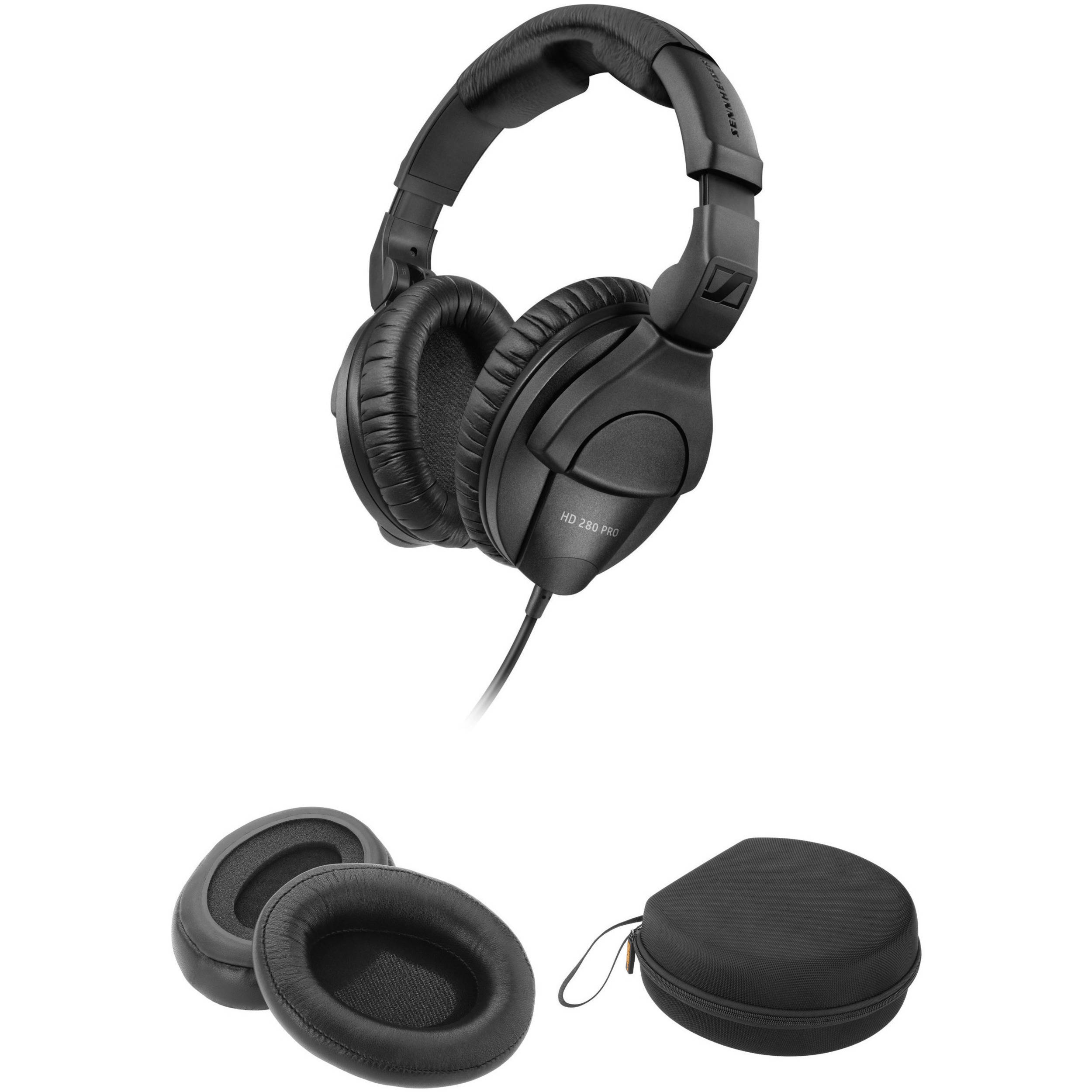 sennheiser hd 280 pro closed circumaural headphones and b h. Black Bedroom Furniture Sets. Home Design Ideas