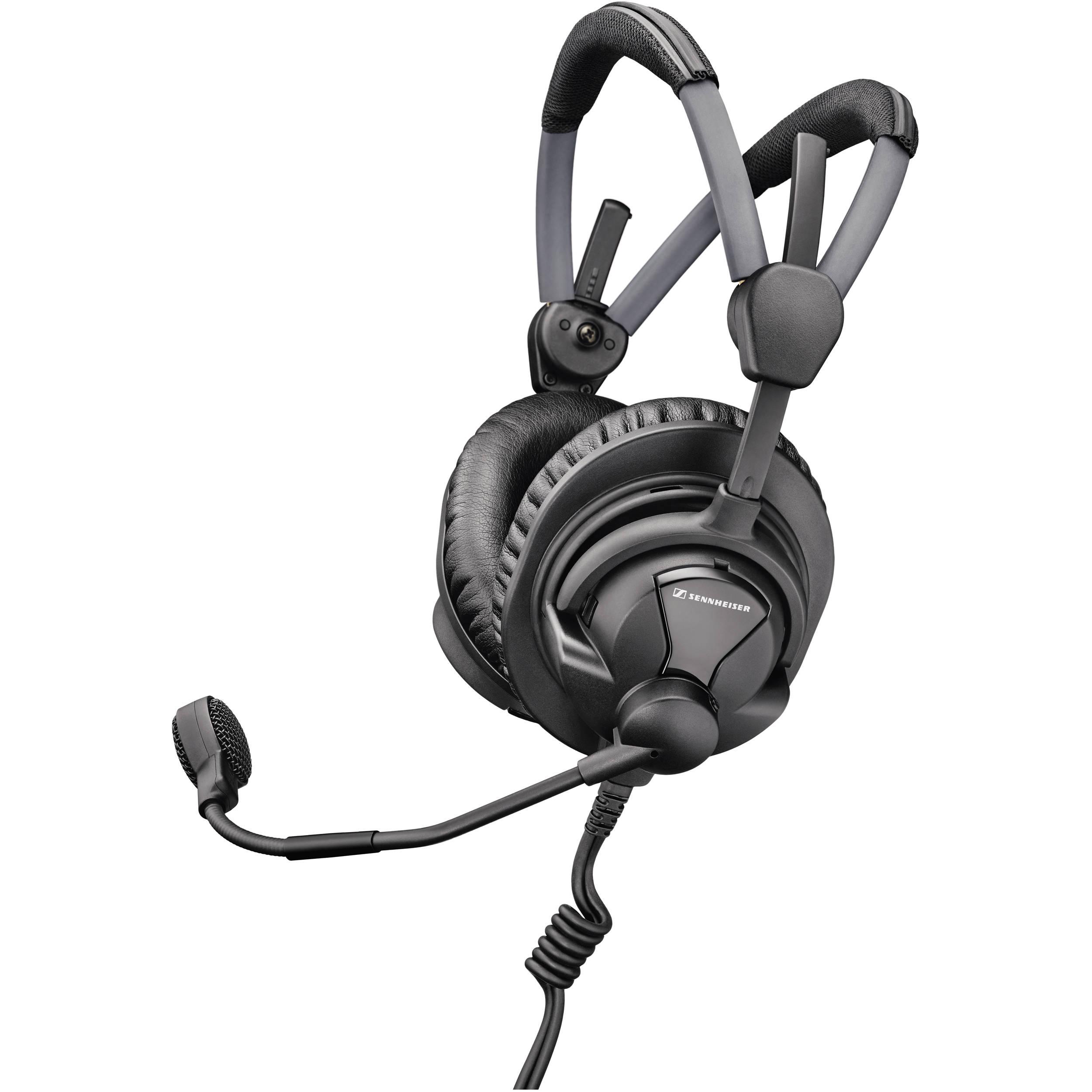 168f1e69b6f Sennheiser HMD 27 Professional Broadcast Headset (No Cable)