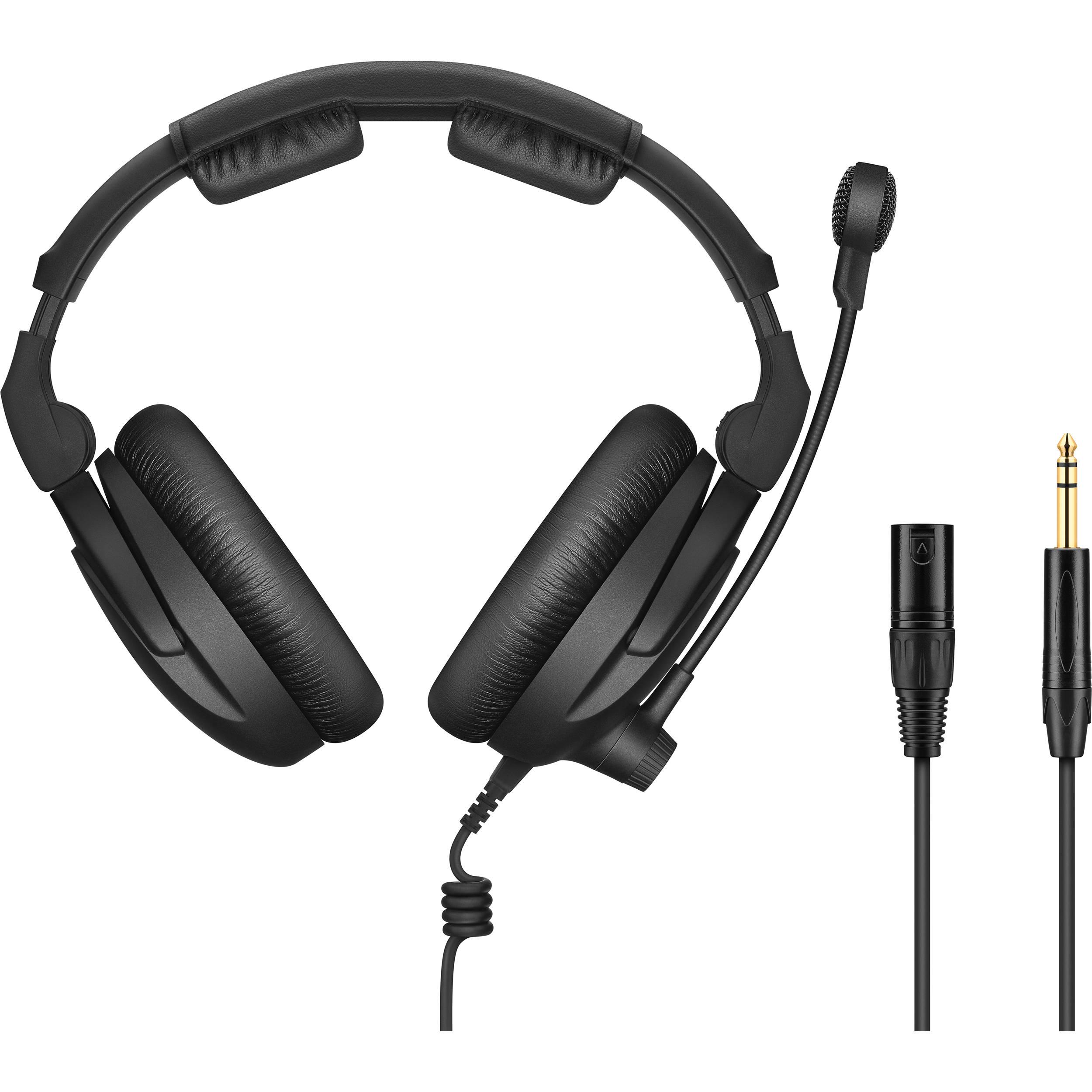 sennheiser hmd 300 xq 2 headset with boom microphone hmd 300. Black Bedroom Furniture Sets. Home Design Ideas