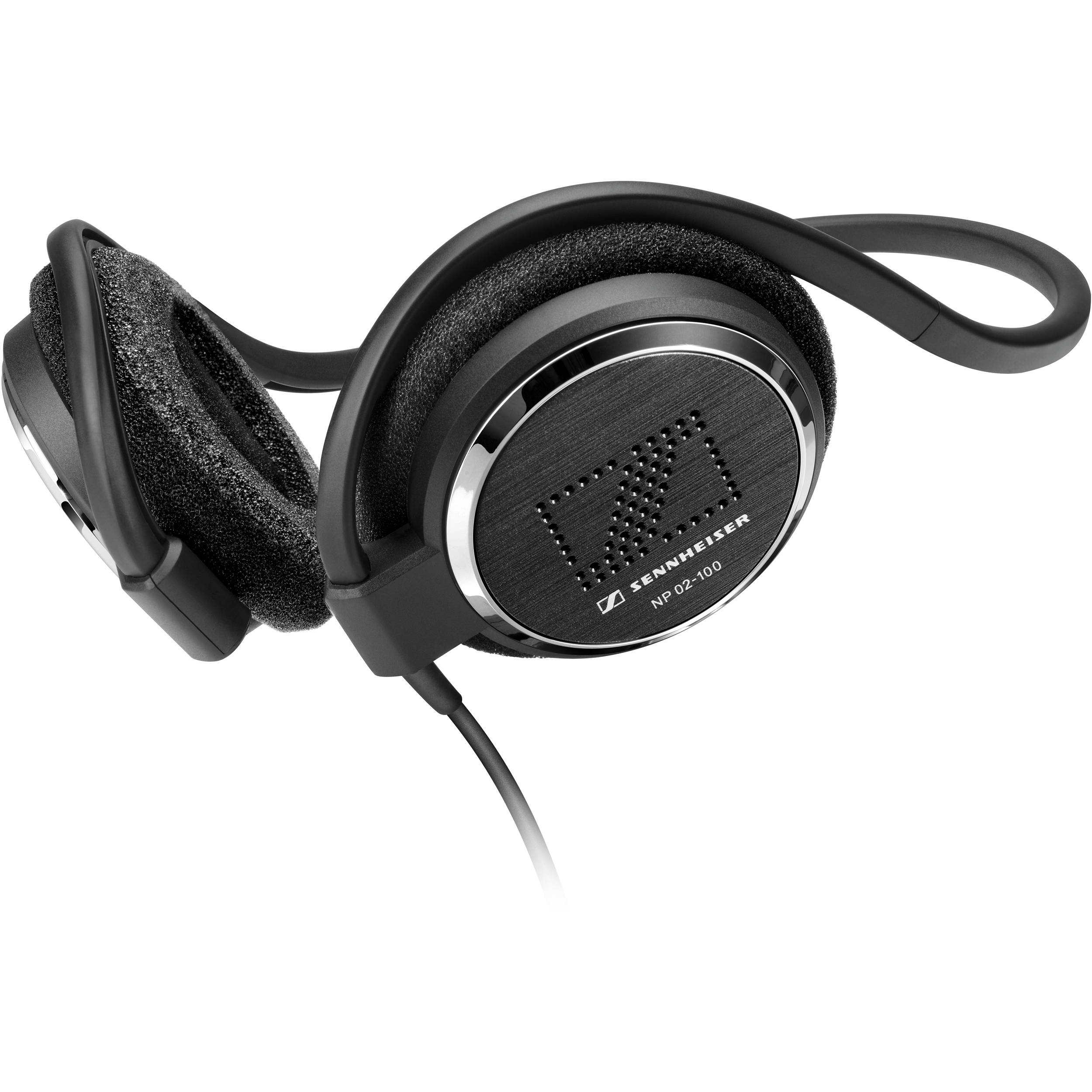 sennheiser np 02 100 neckband stereo headphones 20 pack 505967. Black Bedroom Furniture Sets. Home Design Ideas
