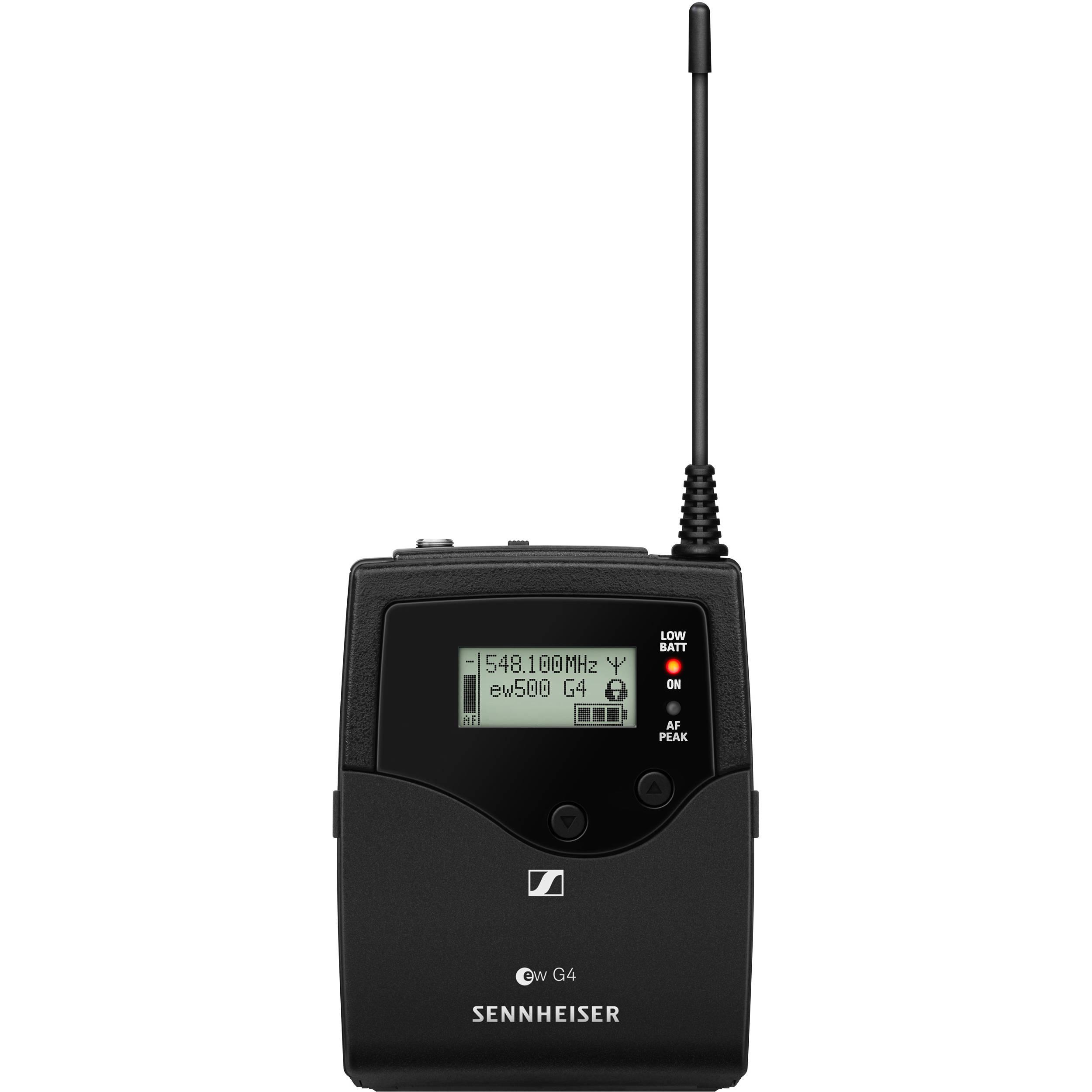 Sennheiser Sk 500 G4 Wireless Bodypack Transmitter Gw1 15 Volt Tracking 558 To 608 Mhz
