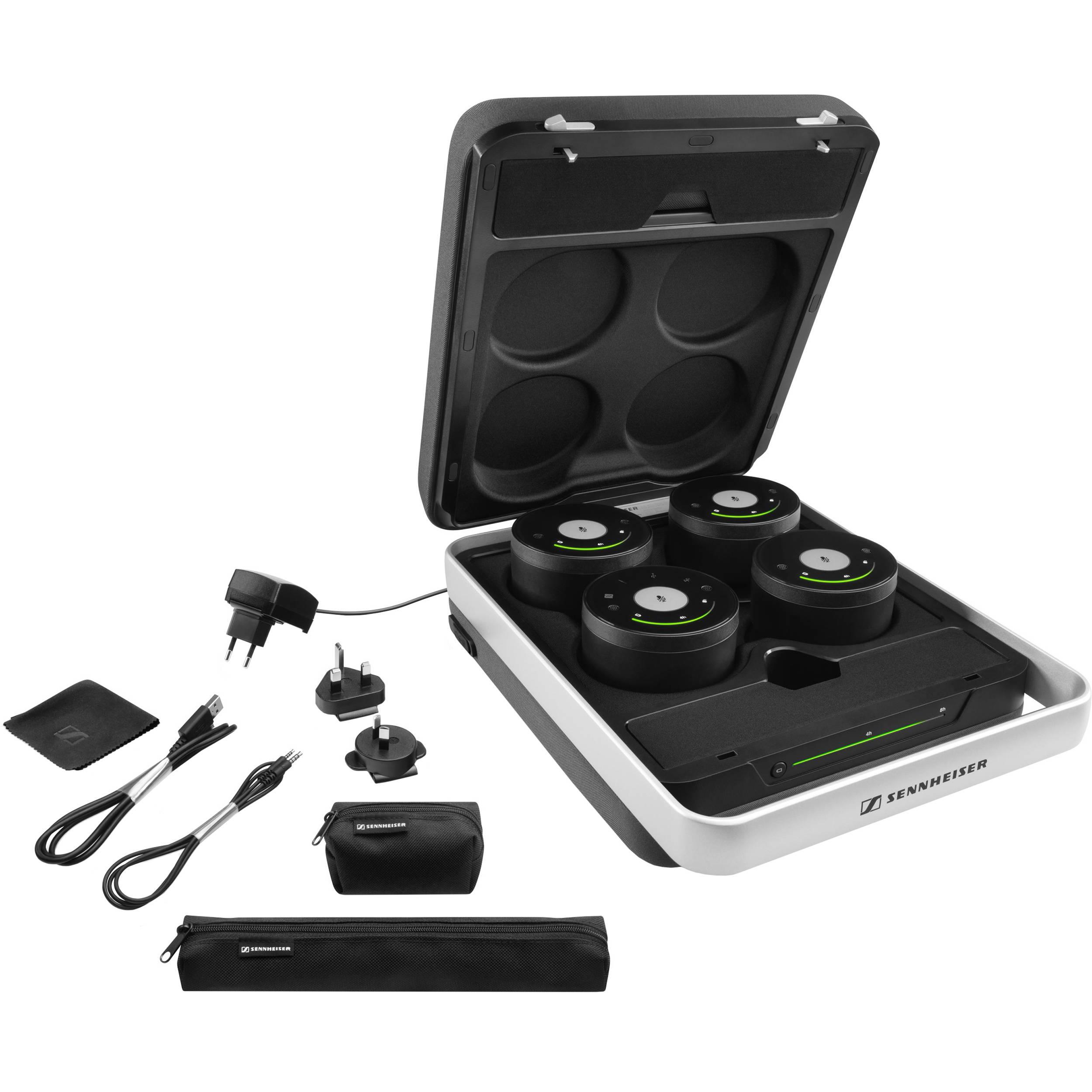 sennheiser teamconnect wireless audio conferencing system 506687. Black Bedroom Furniture Sets. Home Design Ideas