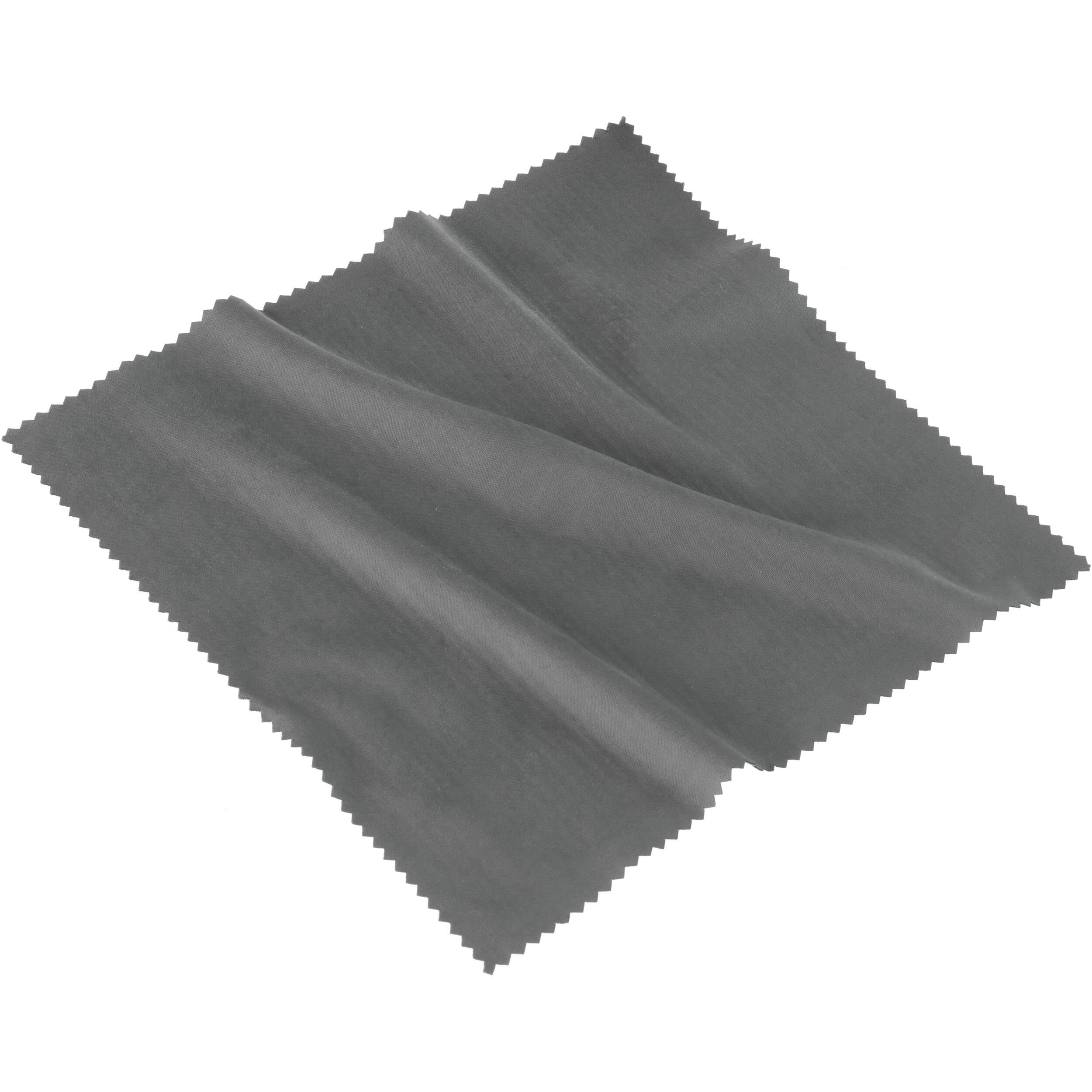sensei microfiber lens cleaning cloth gray ccmf 77g b h photo