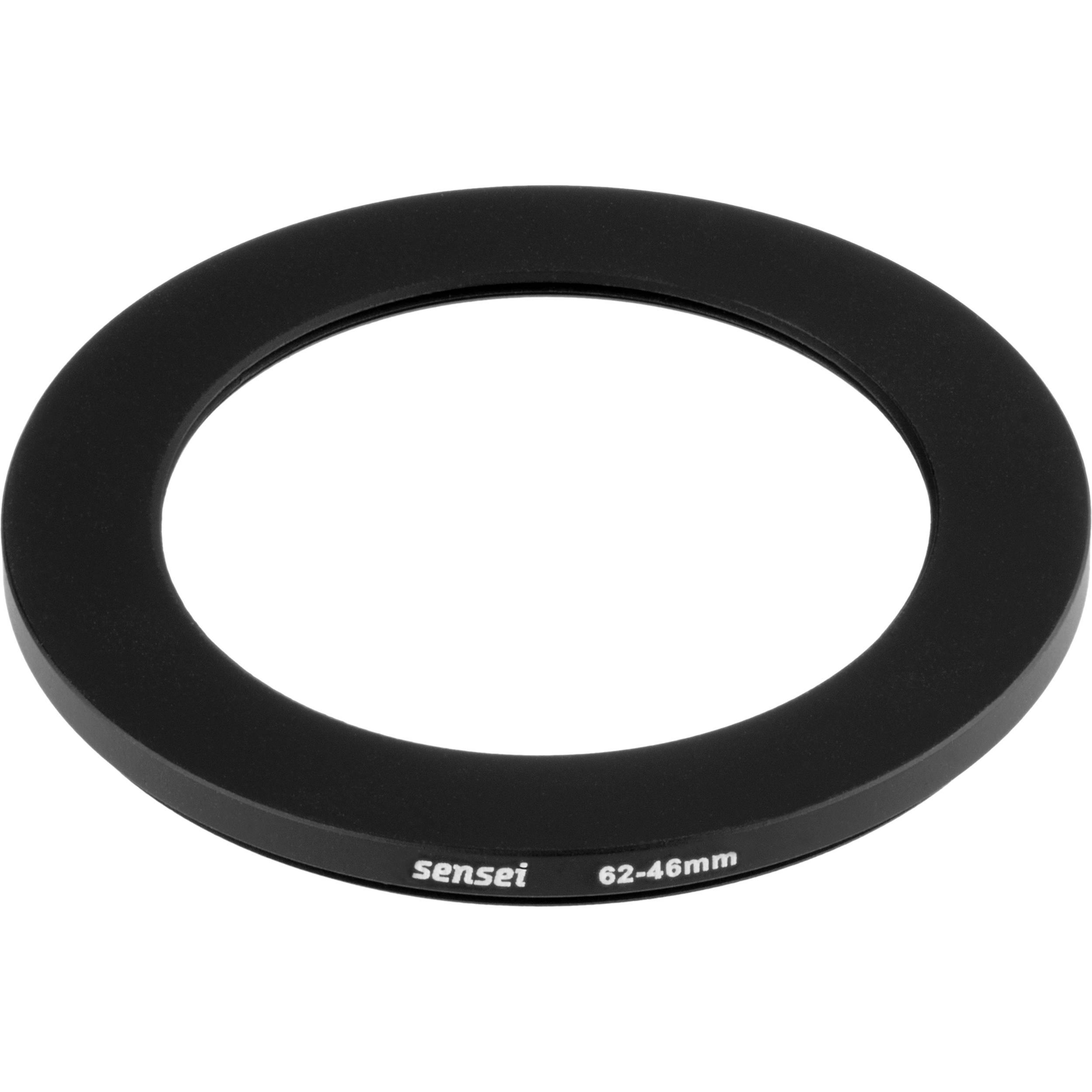 6 Pack Sensei 72mm Lens to 62mm Filter Step-Down Ring