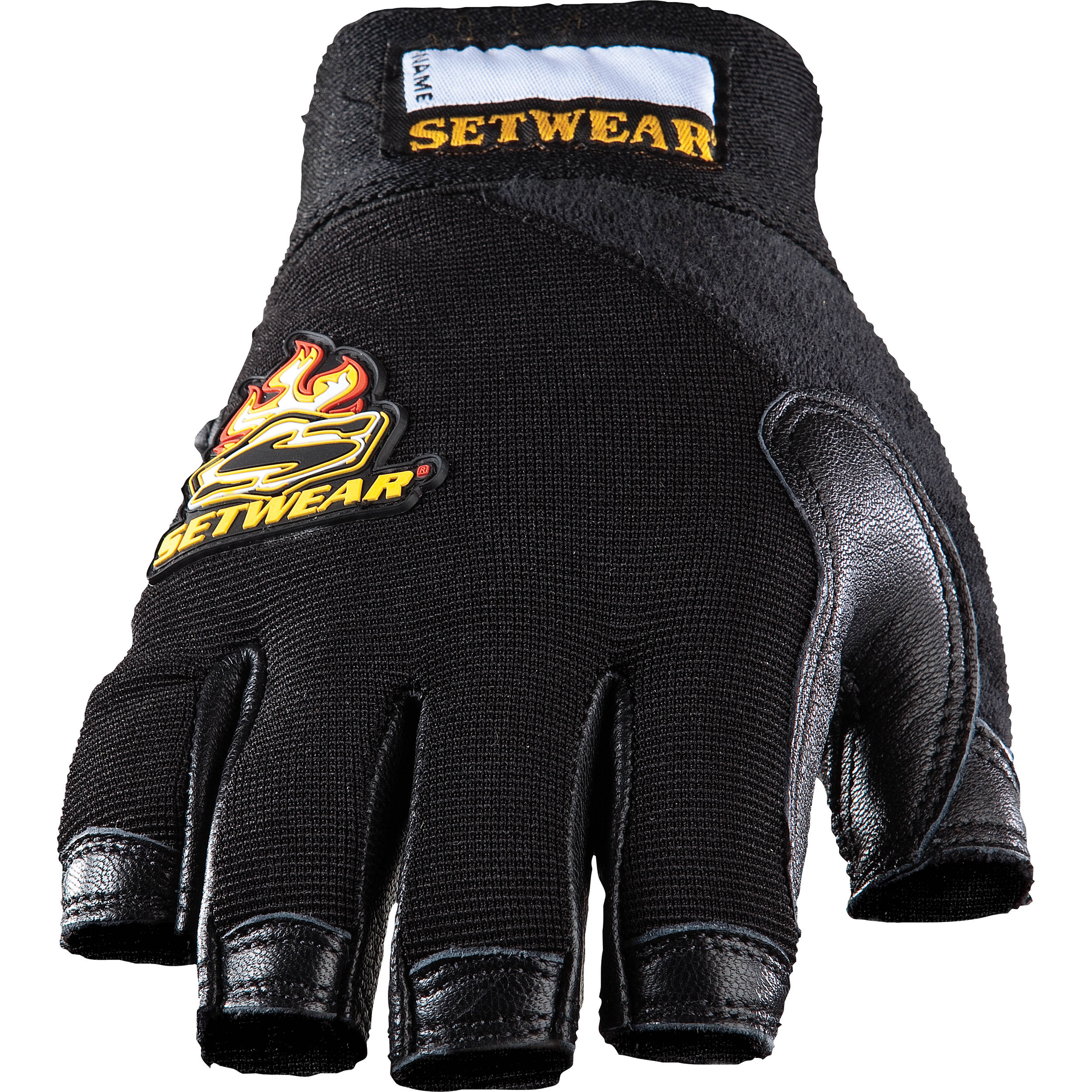 Fingerless gloves canada - Setwear Leather Fingerless Gloves Large